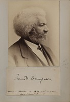 Collection of Frederick Douglass' Monthly's, booklets, and other materials