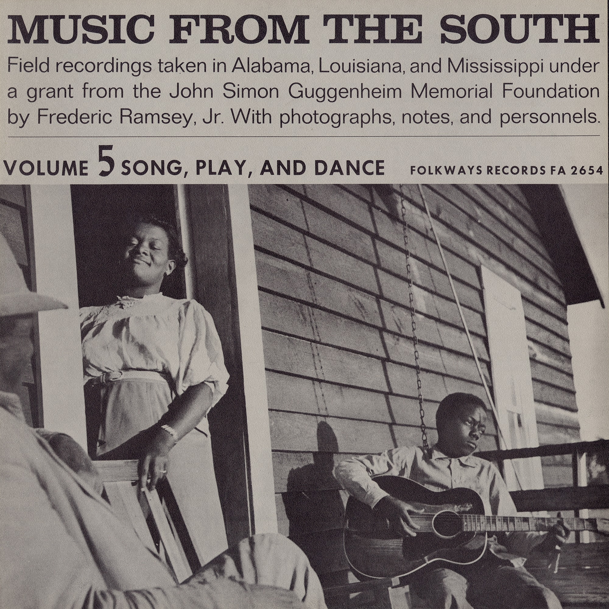 Music from the South. Vol. 5 sound recording : song, play, and dance / recordings taken by Frederic Ramsey, Jr
