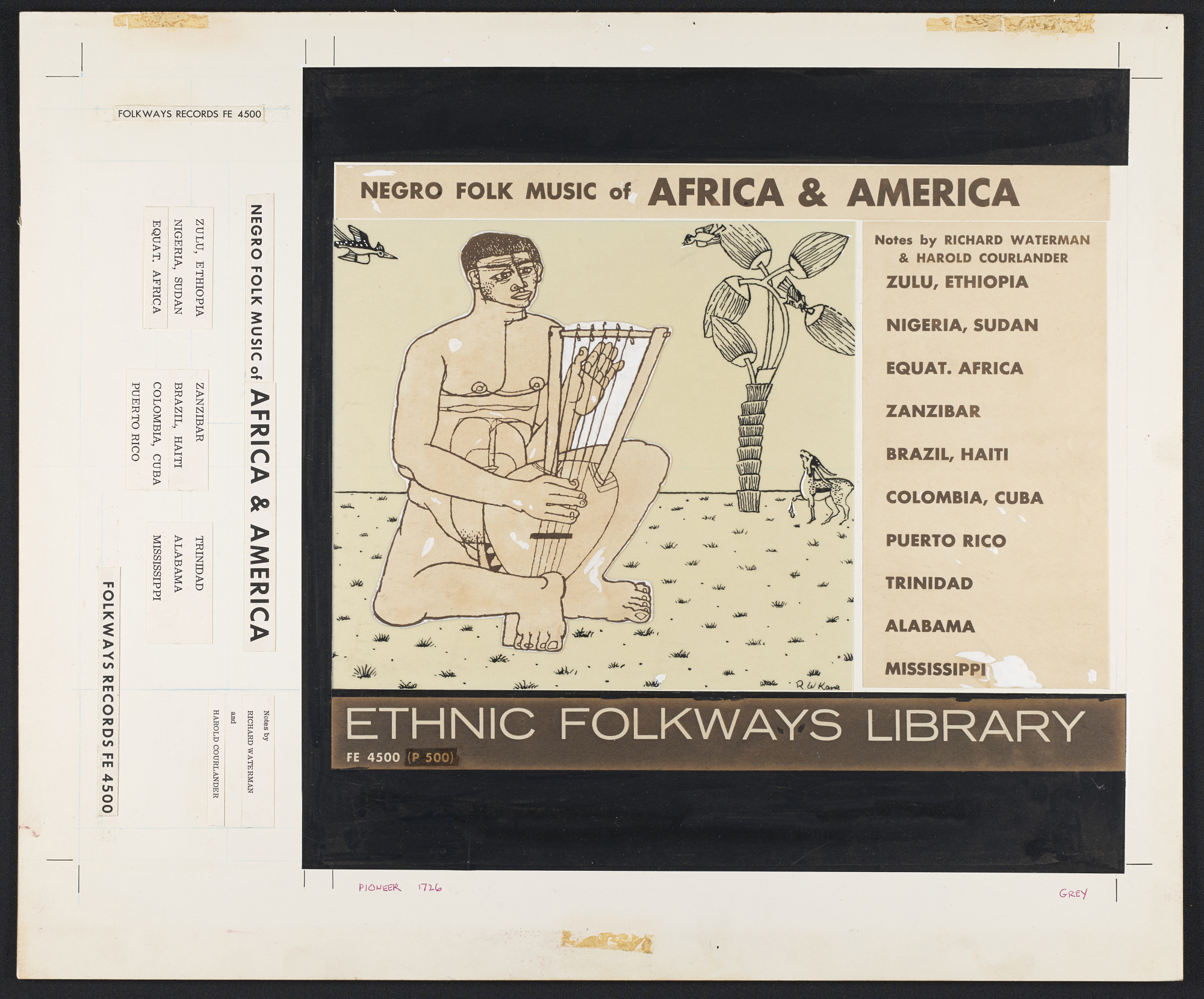 Negro folk music of Africa and America [sound recording] / edited by Harold Courlander