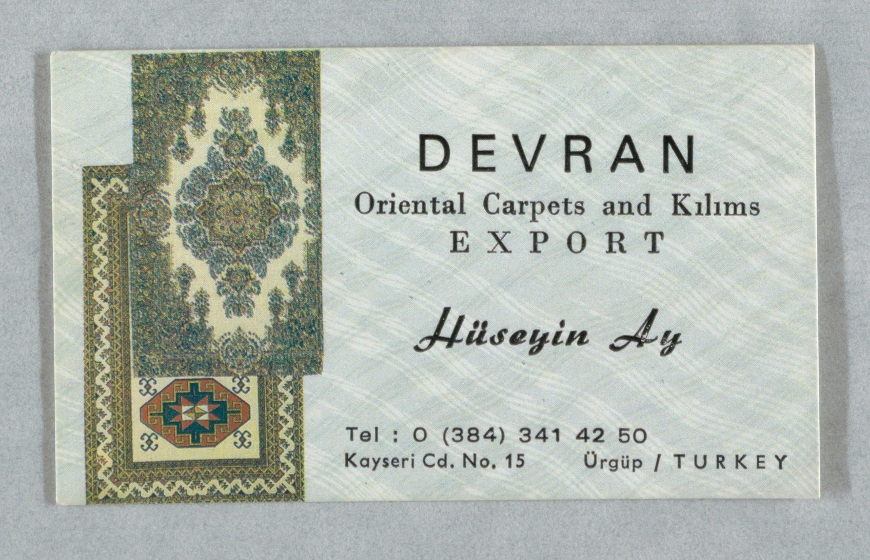 Devran Oriental Carpets and Kilims Export