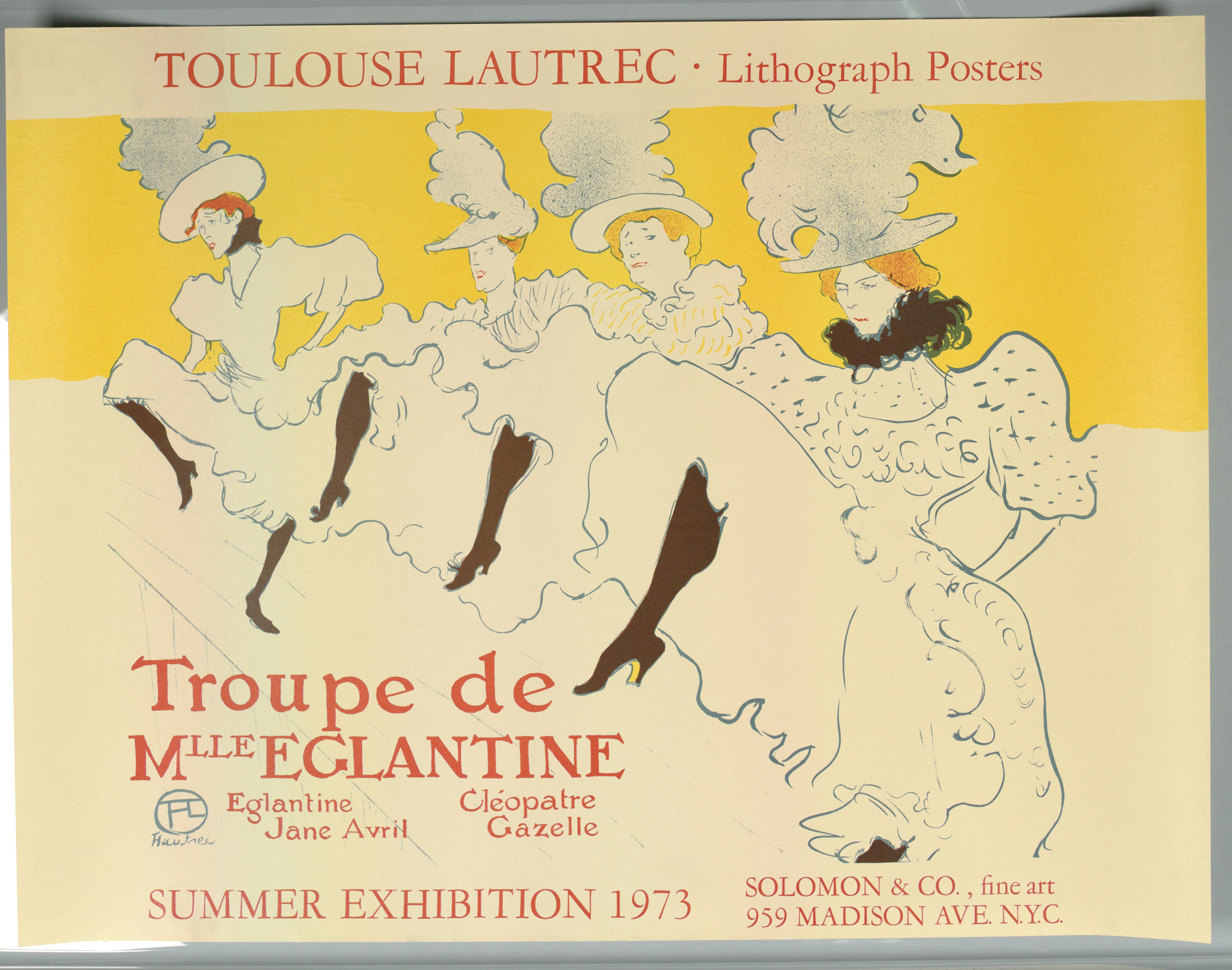 Toulouse-Lautrec lithography Posters