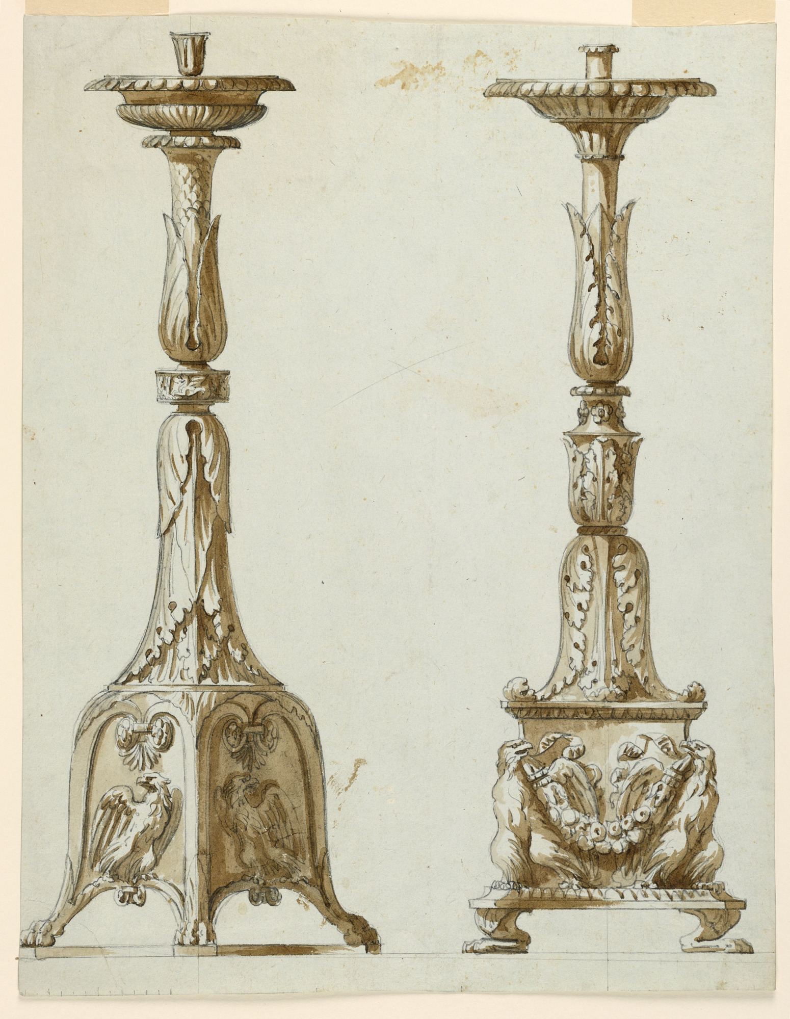 Two Designs for Candlesticks