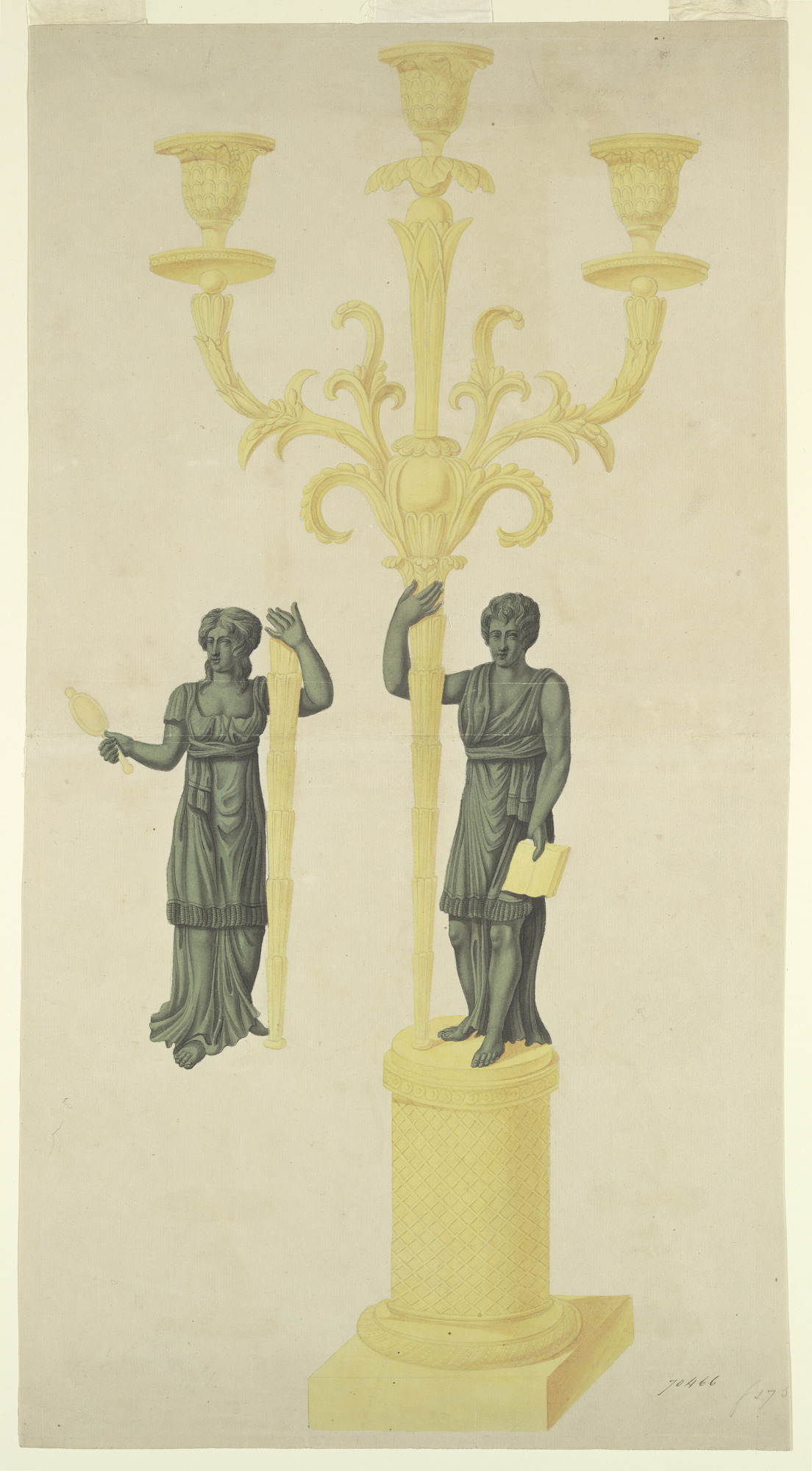 Design for Two Candlesticks