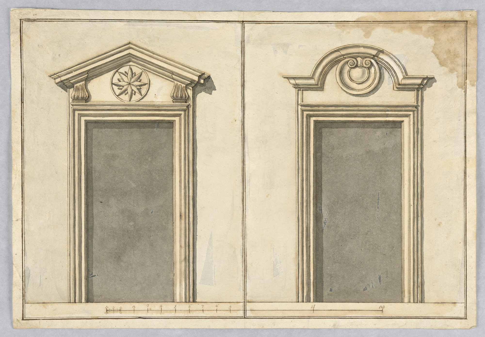 Two Projects for Door Frames