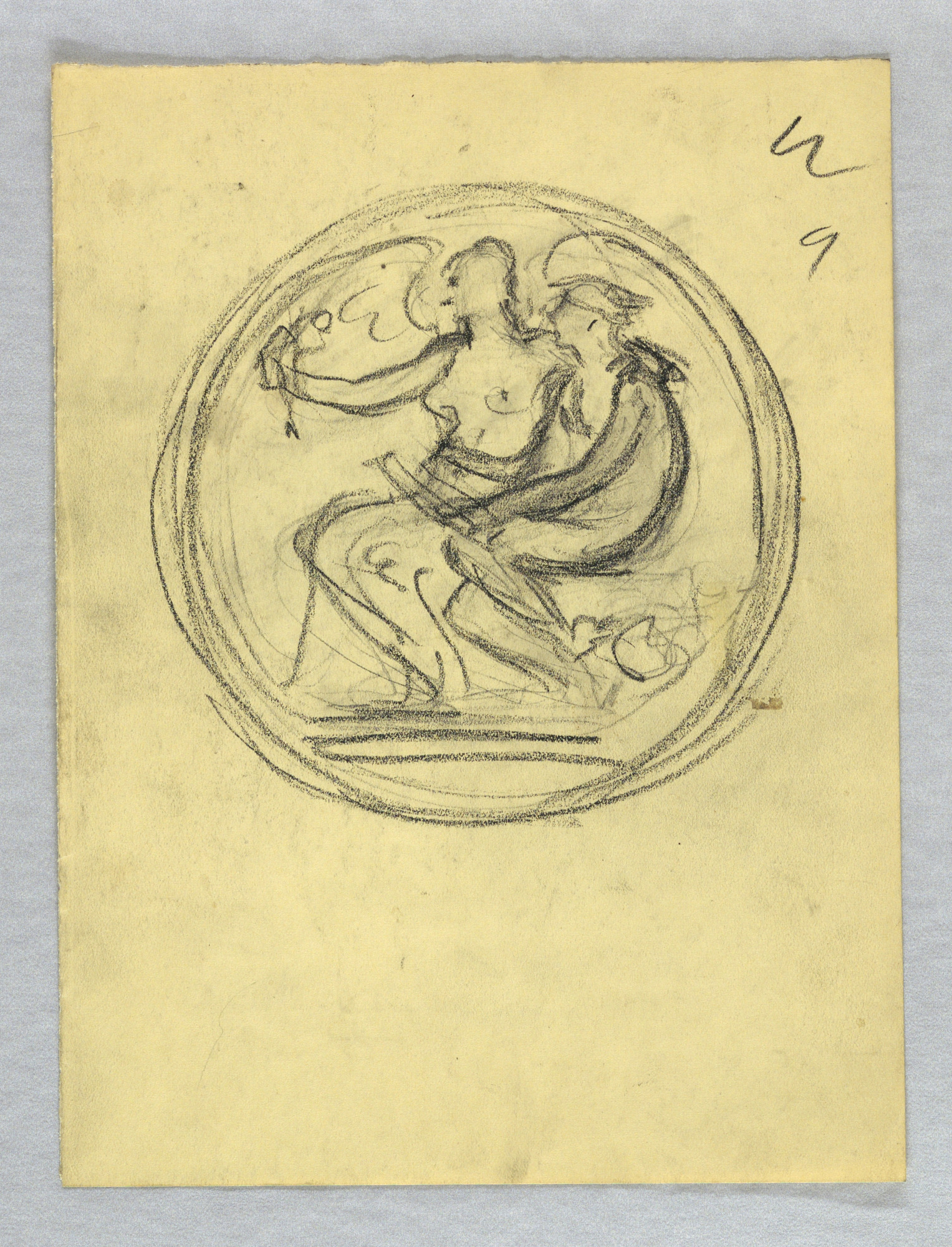 Studies for Obverse and Reverse of Michael Friedsam Medal for Industrial Art
