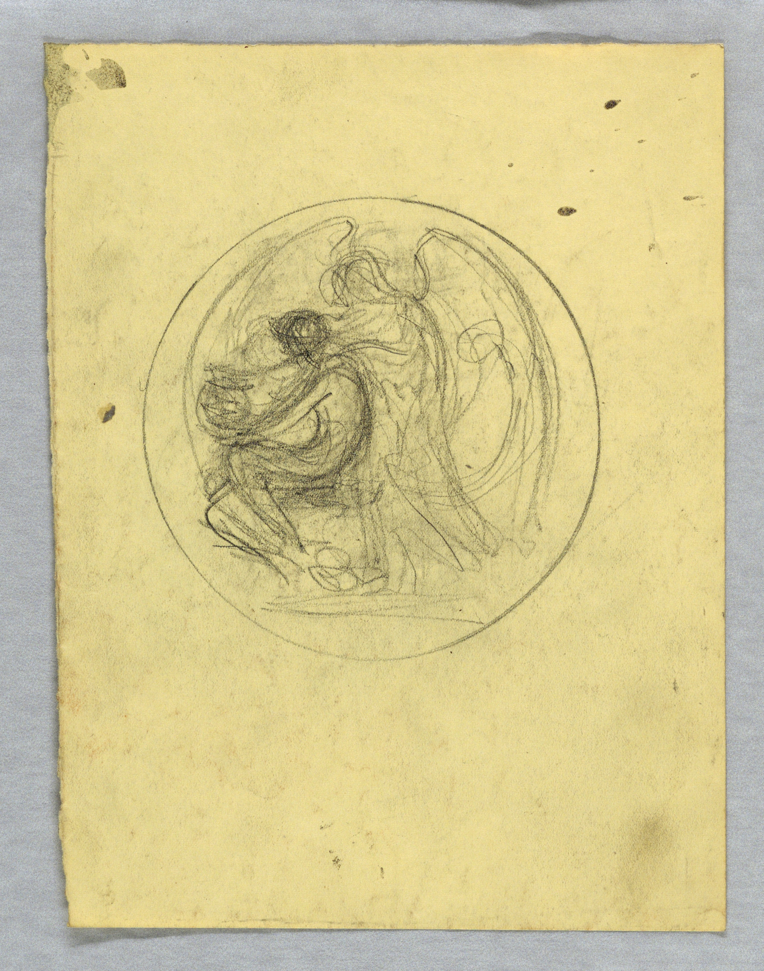 Sketches for Obverse of Michael Friedsam Medal for Industrial Art