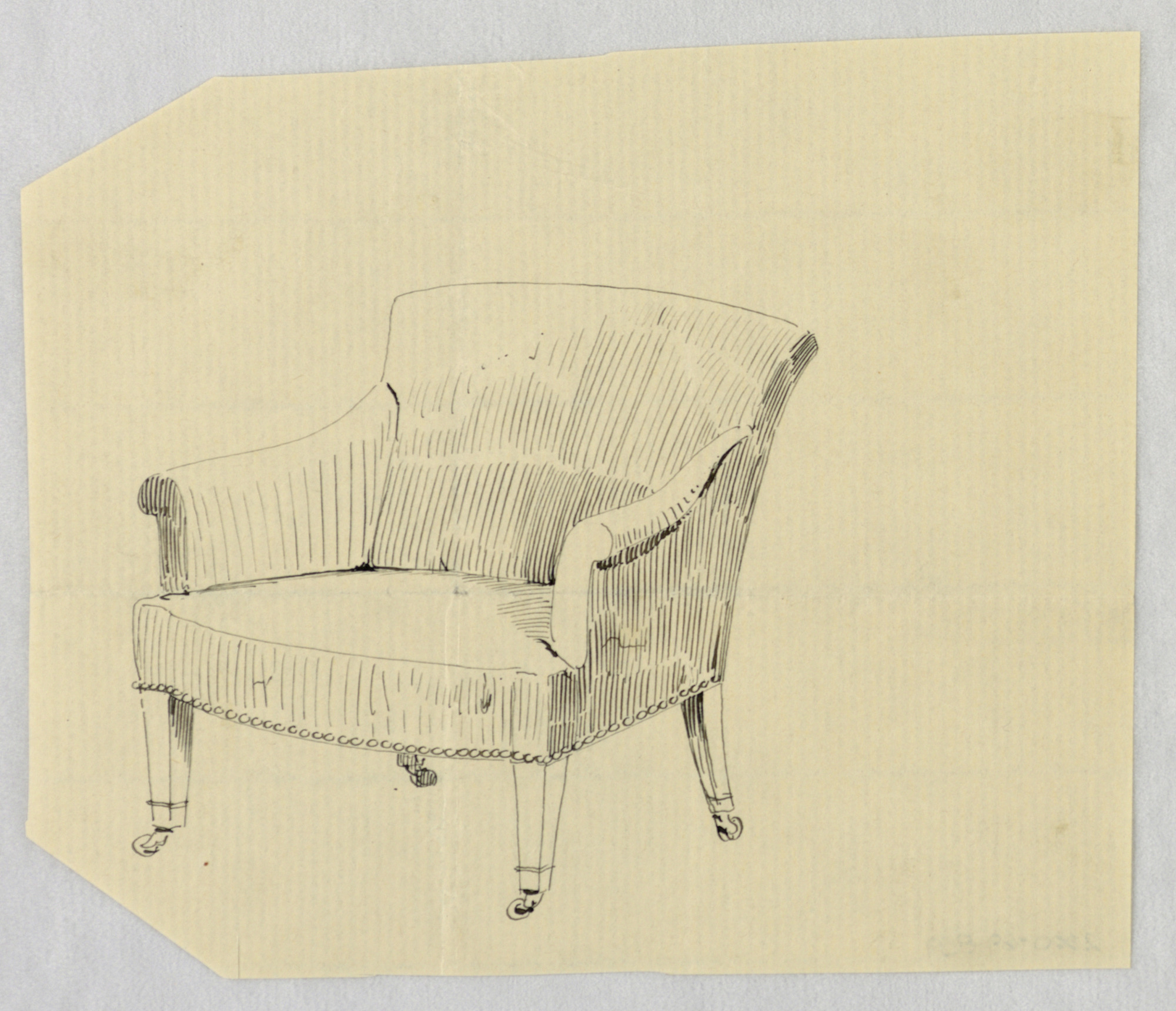 Design for Stuffed Chair, Rocker, and Arm Chair (easy chair)