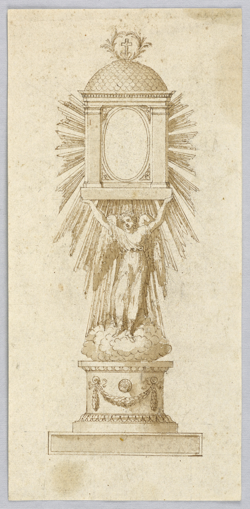 Elevation of a Monstrance