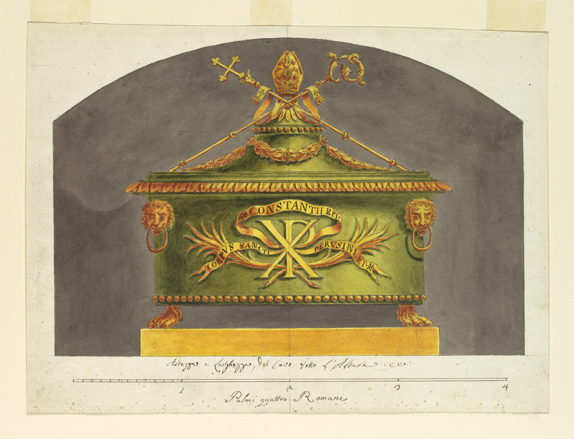 Sarcophagus for the Relic