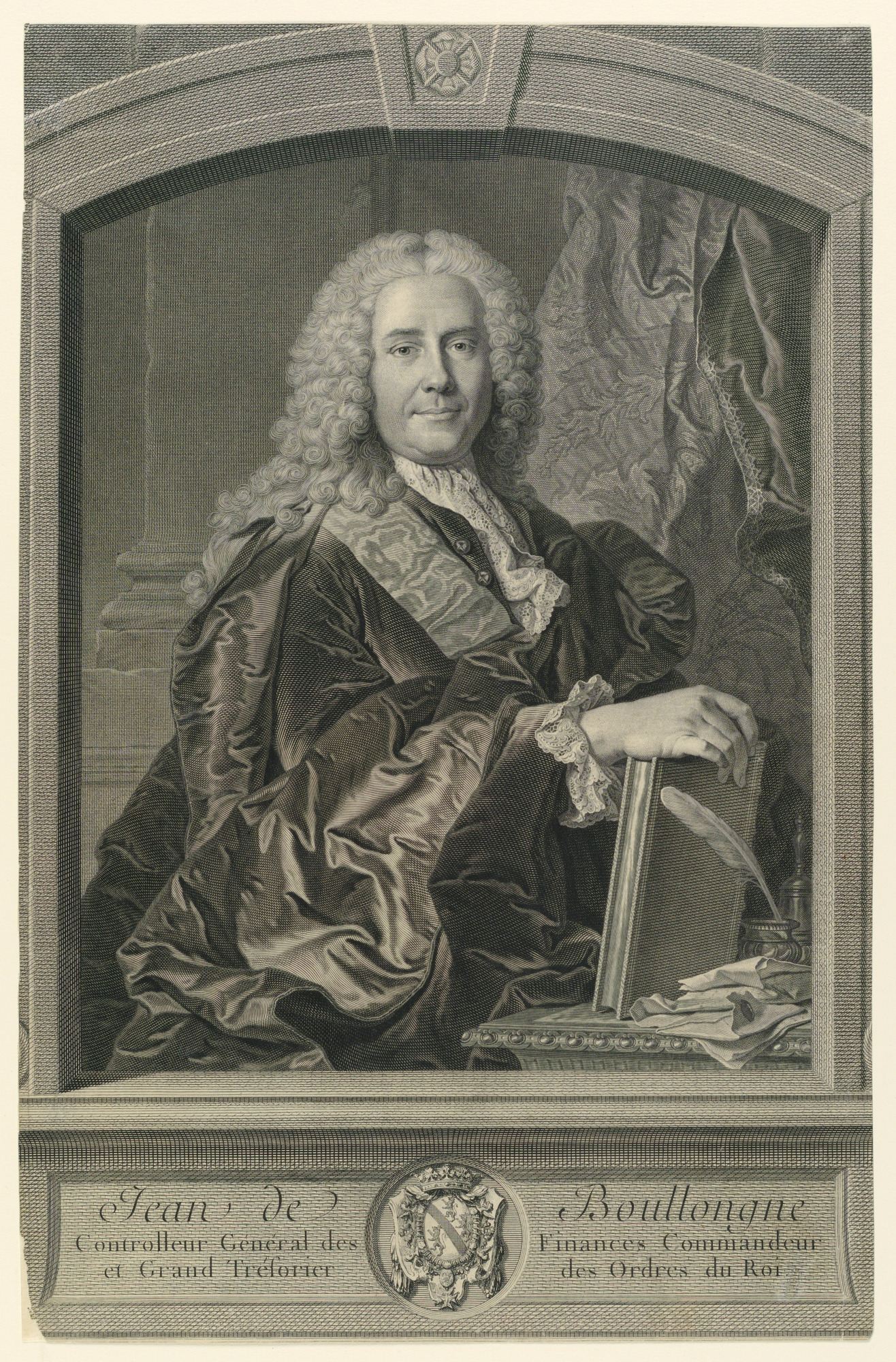 Portrait of Jean de Boullongue