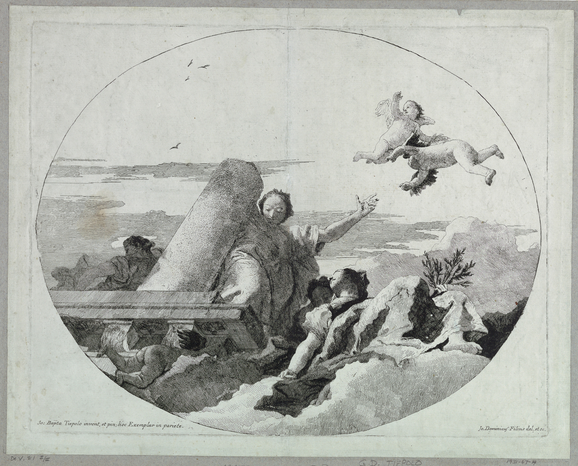 Allegory of Fortitude and Peace
