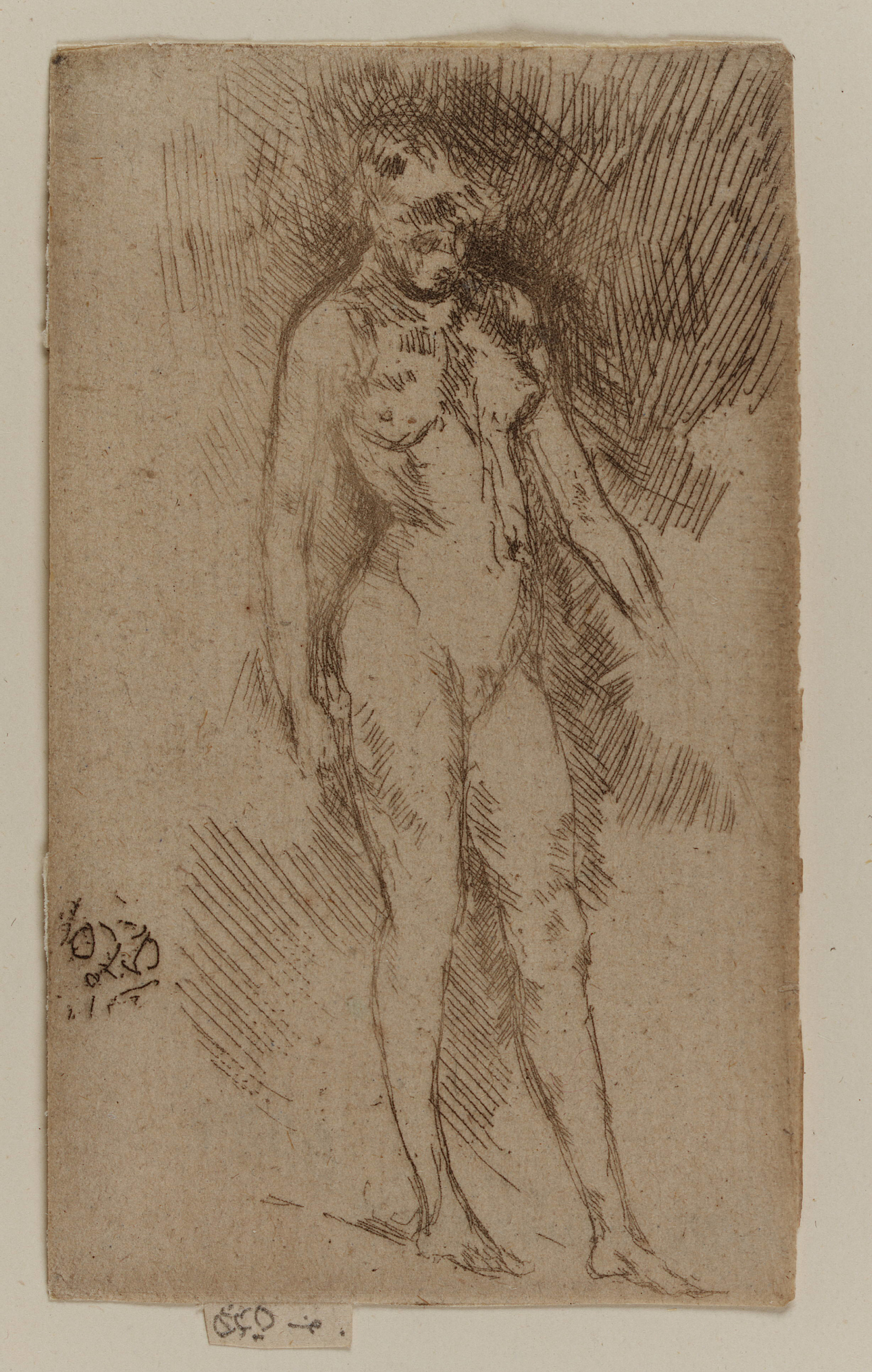 : Little Nude Figure