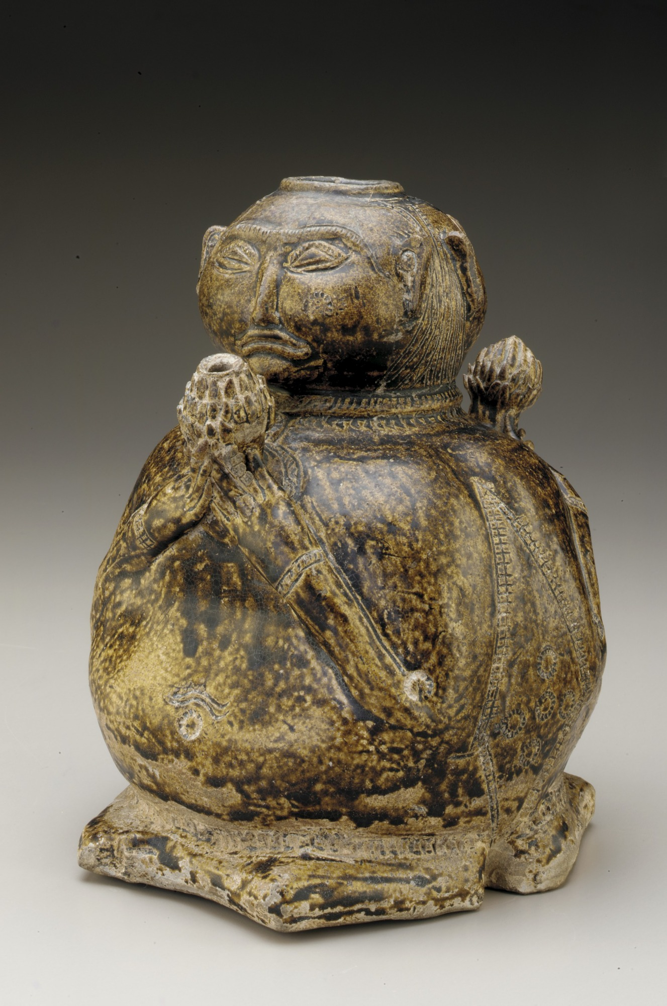 Vessel in the form of two human figures