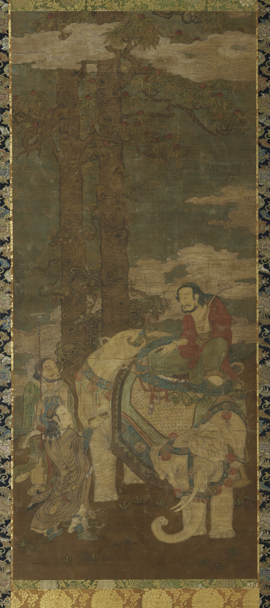 Sakyamuni on an Elephant