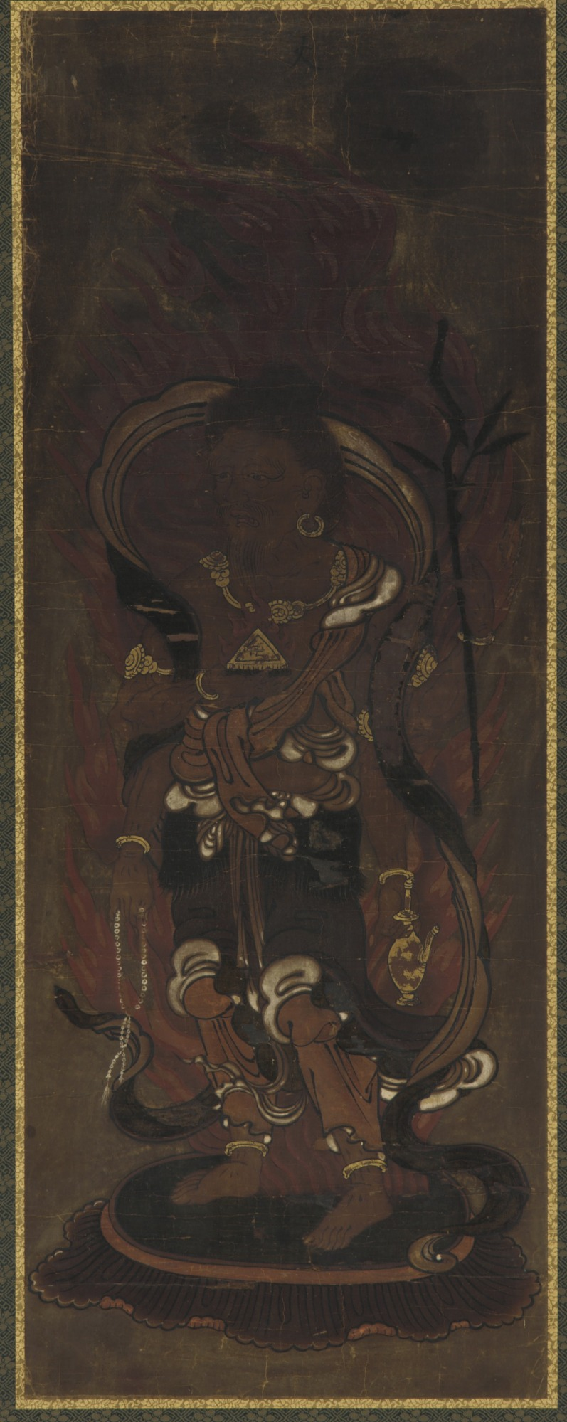 One of the twelve deva: Kwa-ten (Agni)