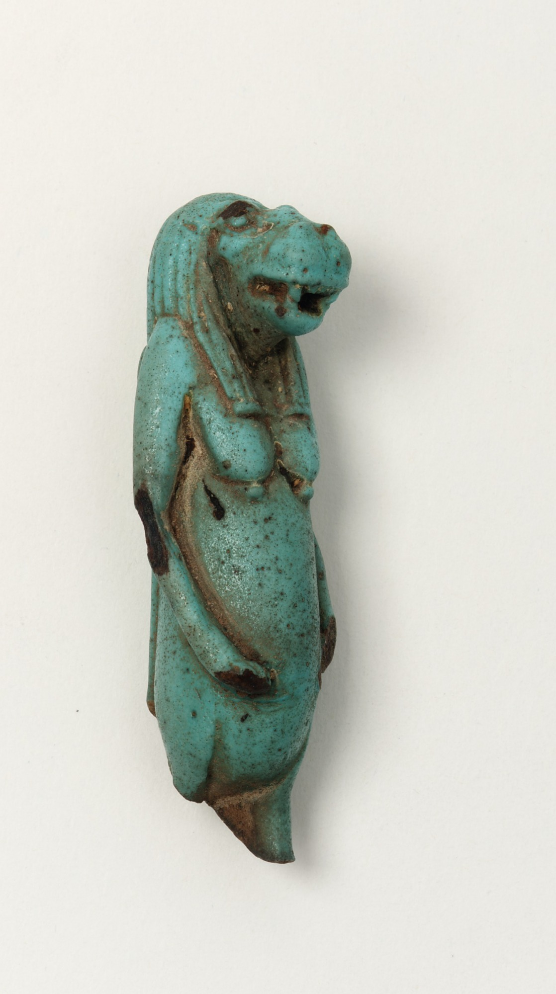proper right: Amulet of the goddess Taweret