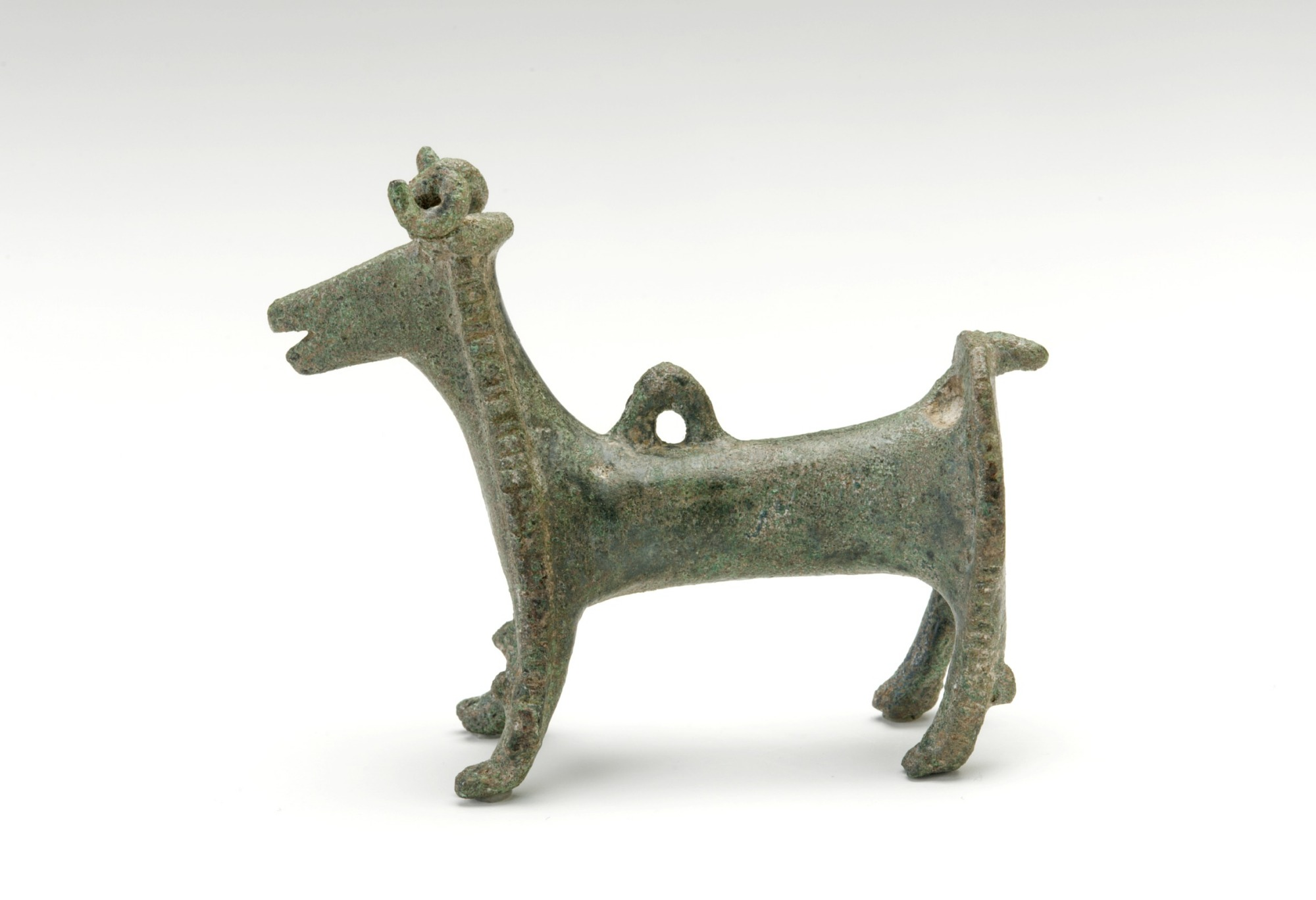 Pendant in the shape of a goat