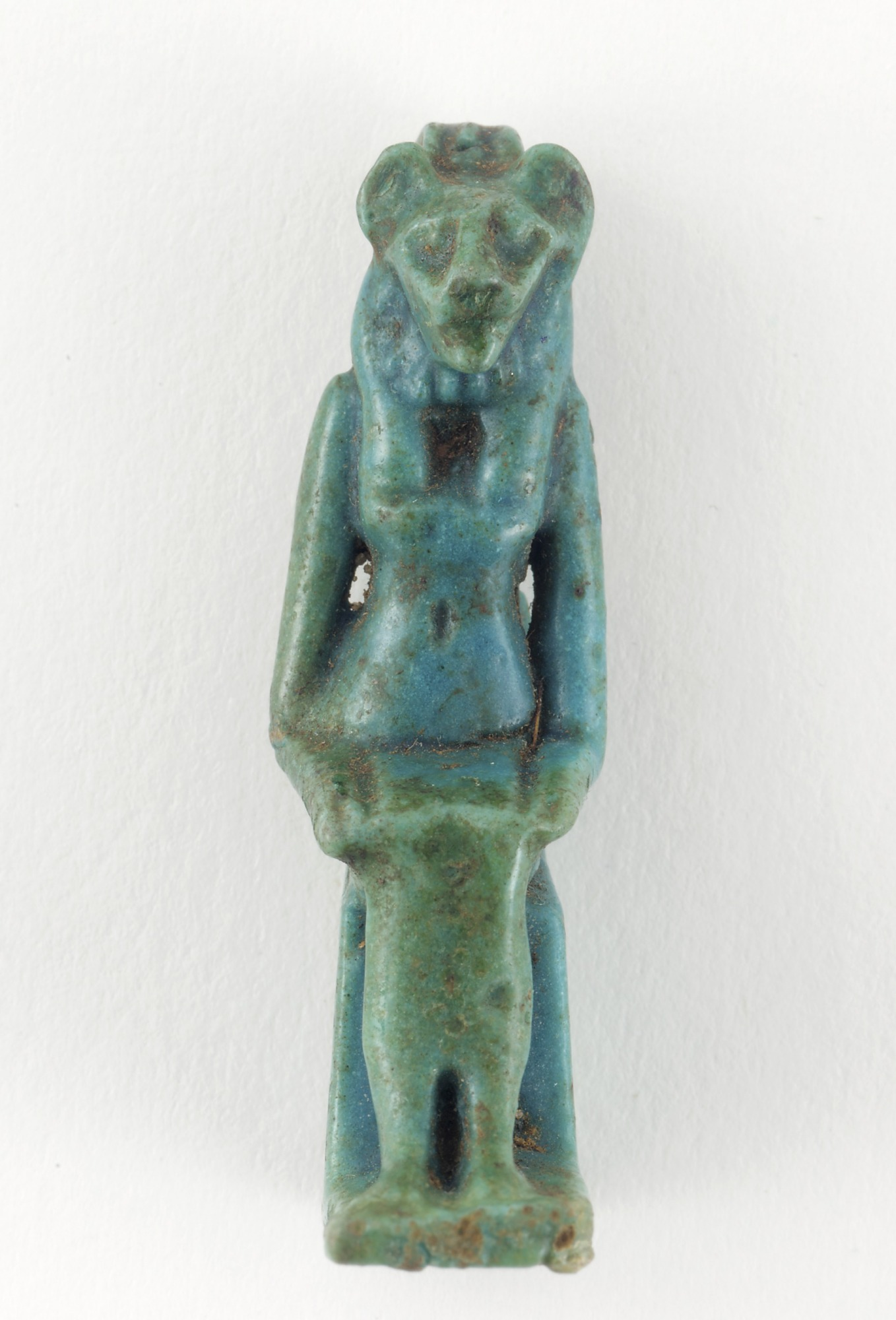 front: Amulet of Sakhmet or Bastet
