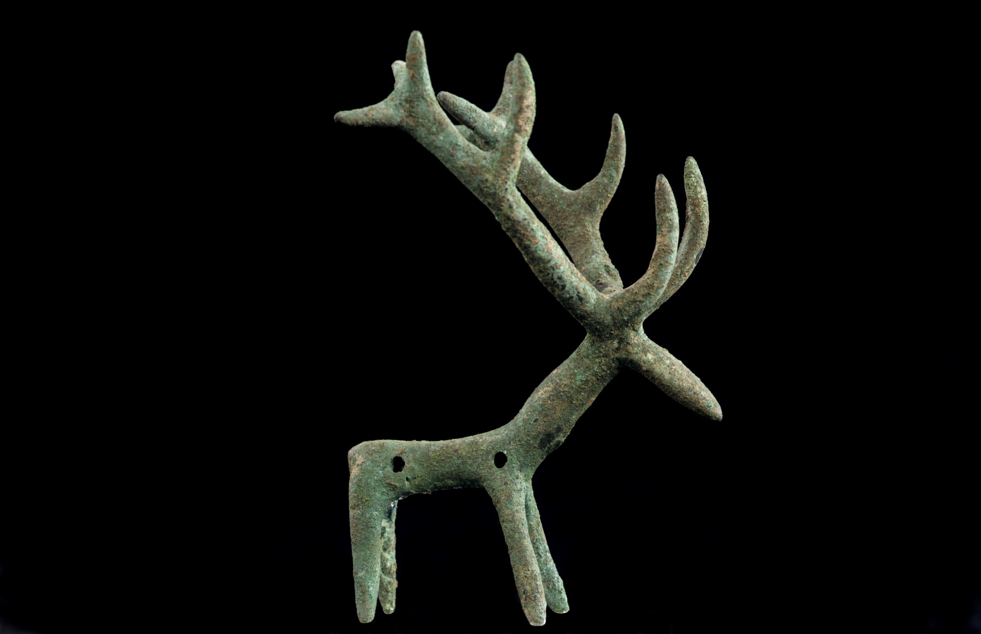 : Pendant in the Shape of a Stag