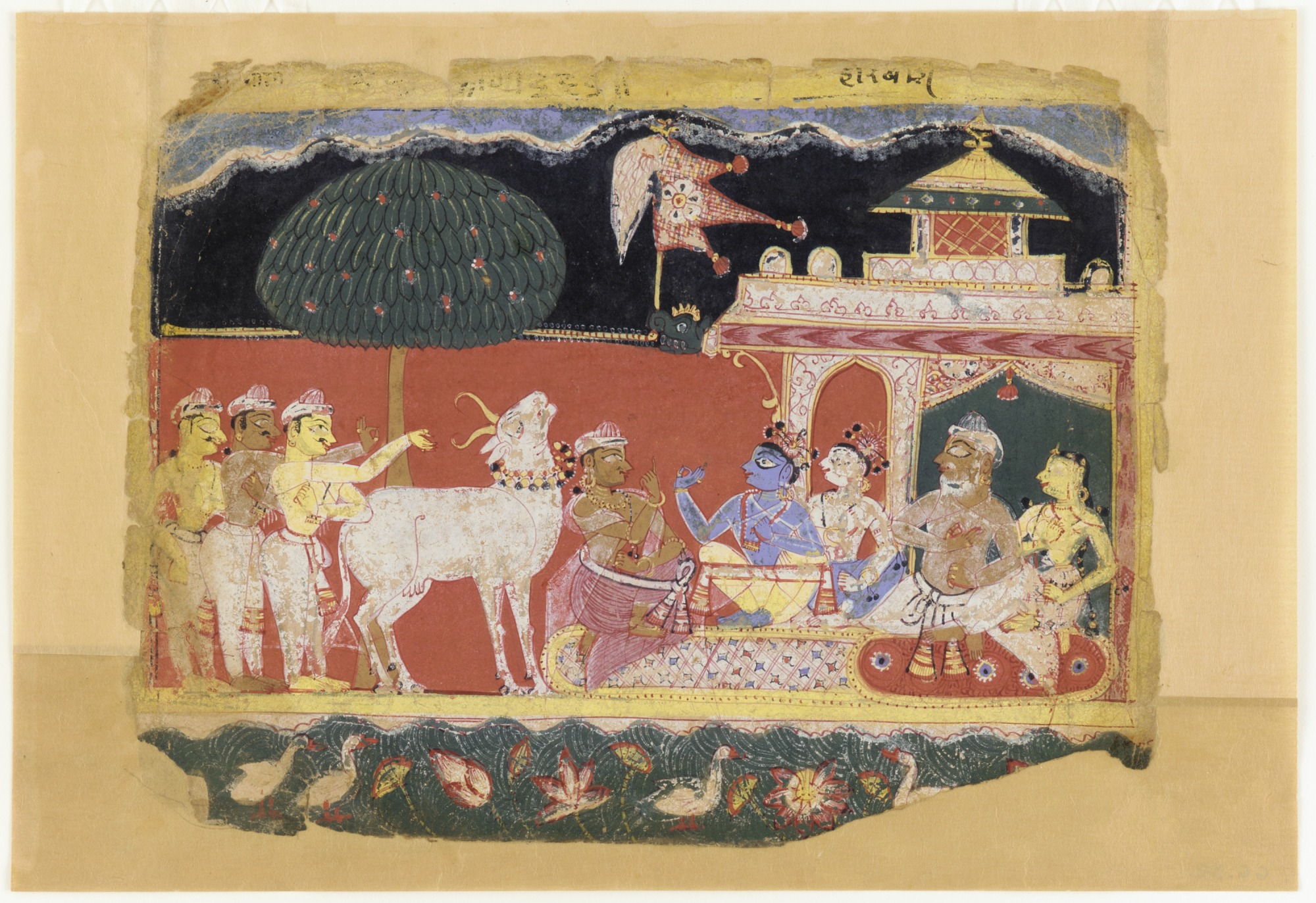 : Akrura Invites Krishna and Balarama to Mathura