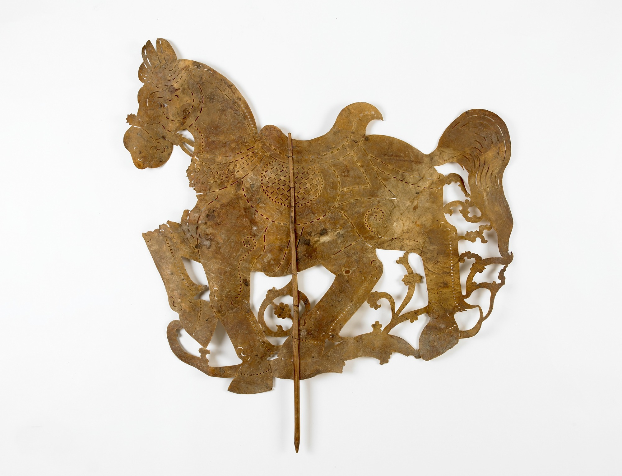 Shadow puppet of a horse (Sbek Poa
