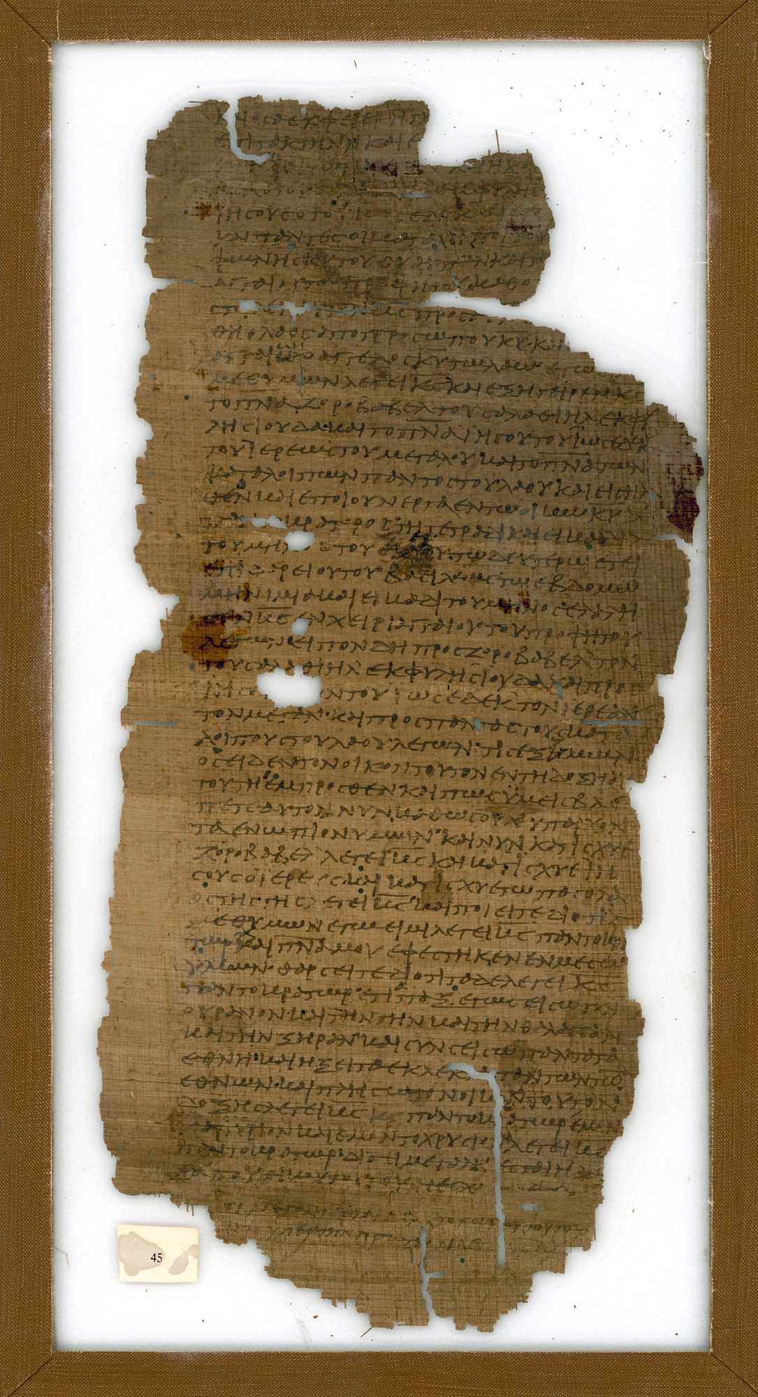 pg. 45: Washington Manuscript V - The Minor Prophets (Codex Washingtonensis)