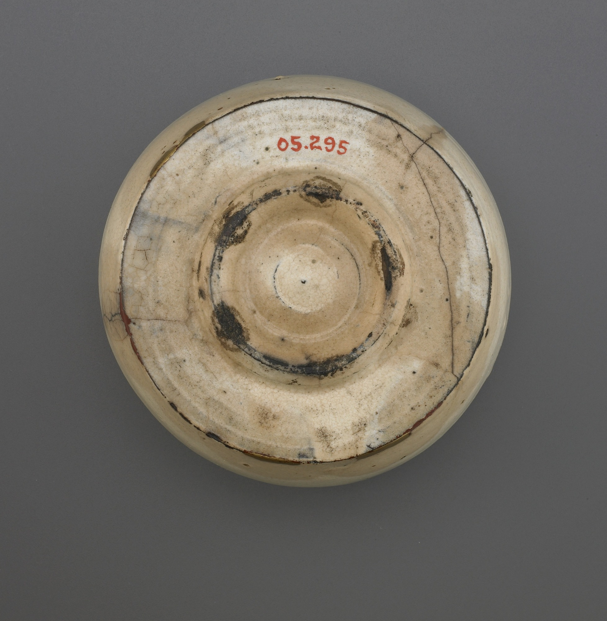 base: Cylindrical tea bowl