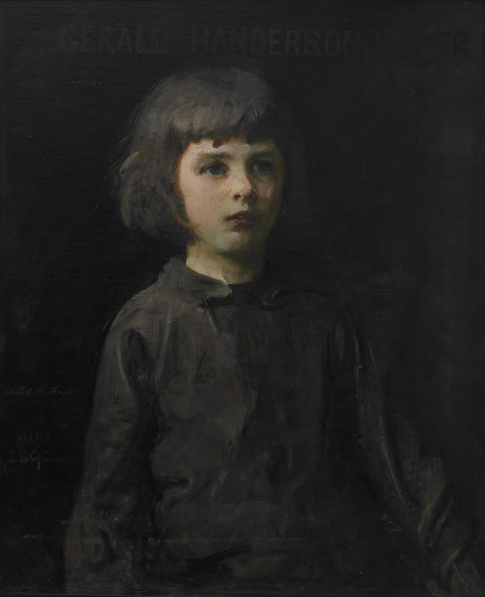 : Portrait of the Artist's Son
