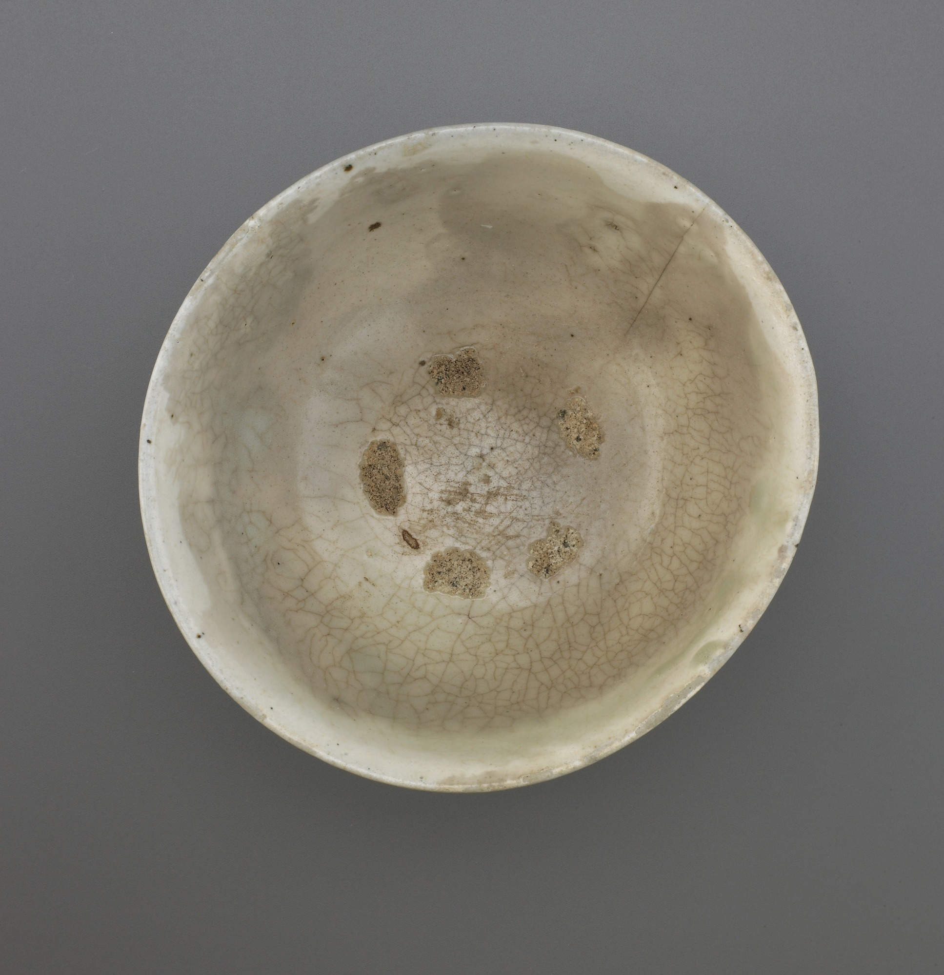 interior: Punch'ong ware bowl