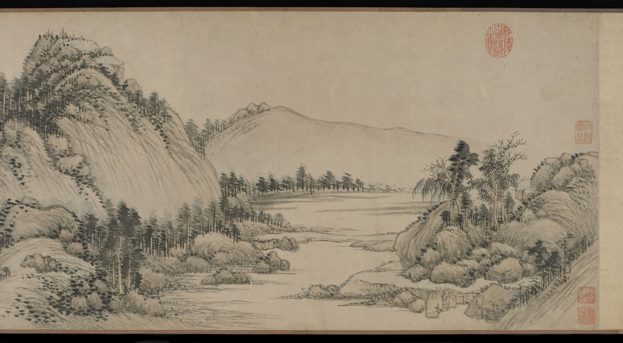 section 1: Dwelling in the Fuchun Mountains after Huang Gongwang