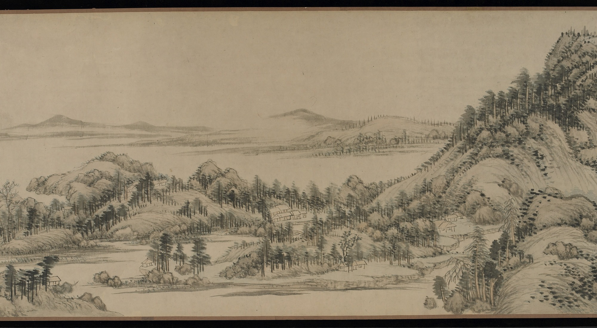 section 2: Dwelling in the Fuchun Mountains after Huang Gongwang