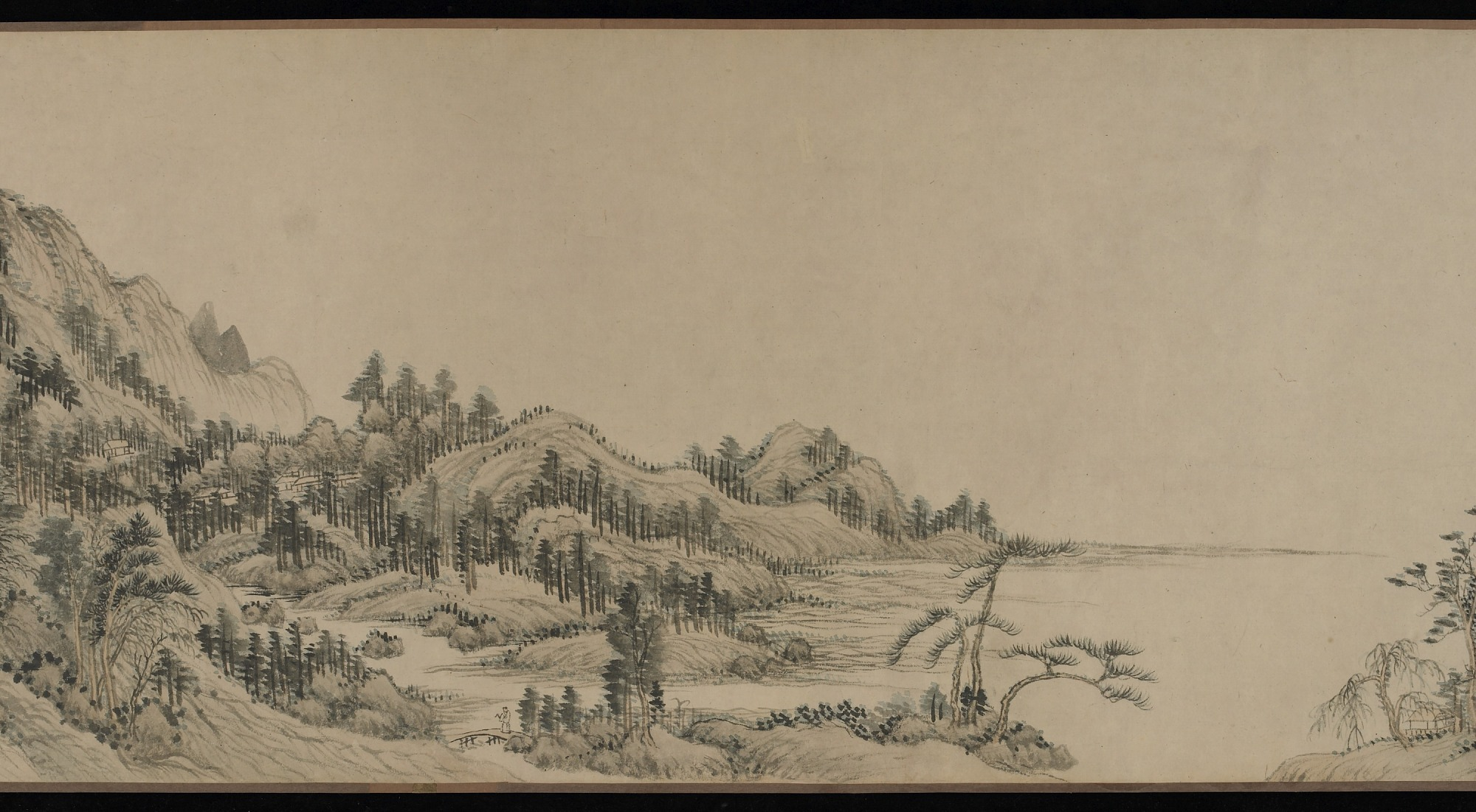 section 4: Dwelling in the Fuchun Mountains after Huang Gongwang