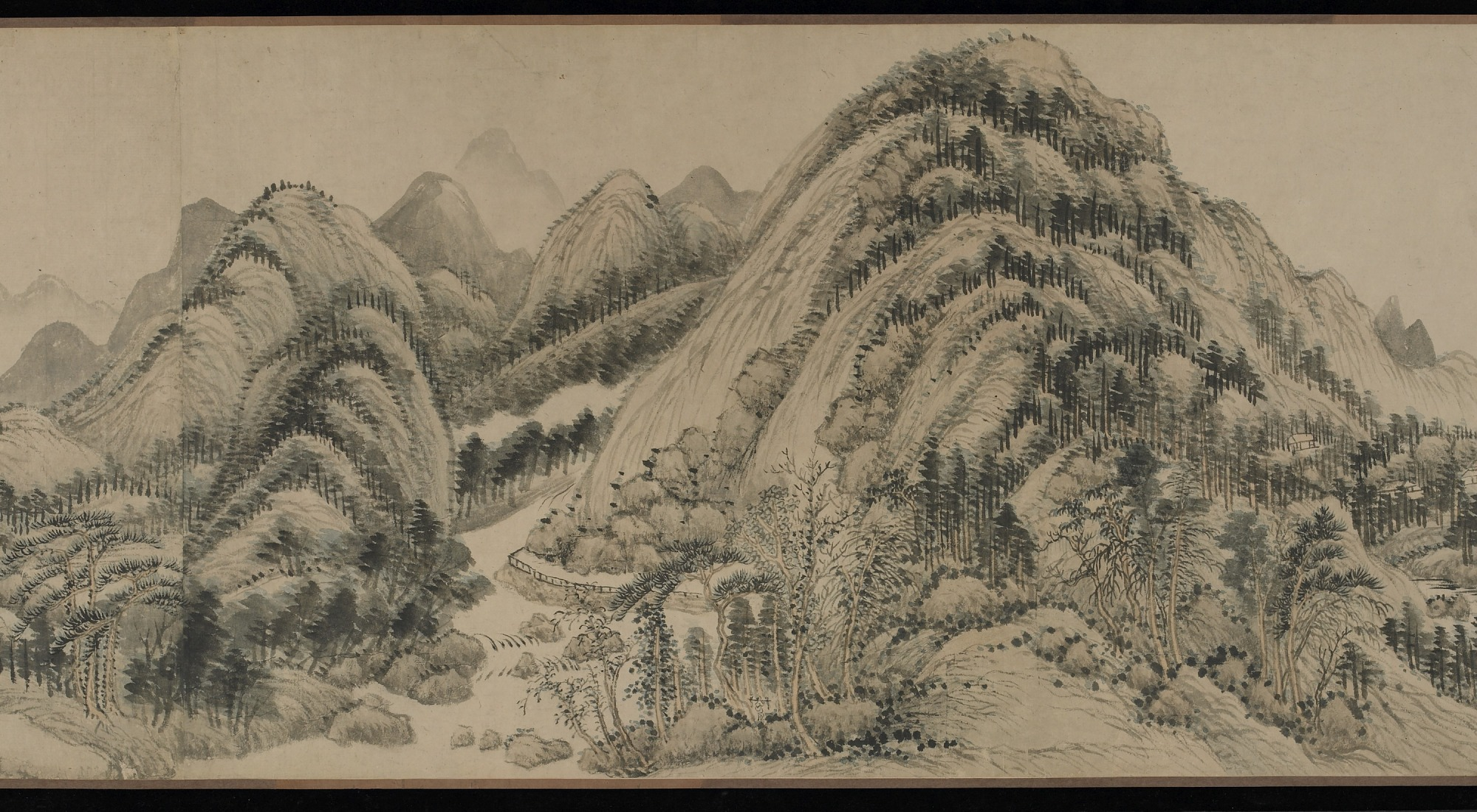 section 5: Dwelling in the Fuchun Mountains after Huang Gongwang