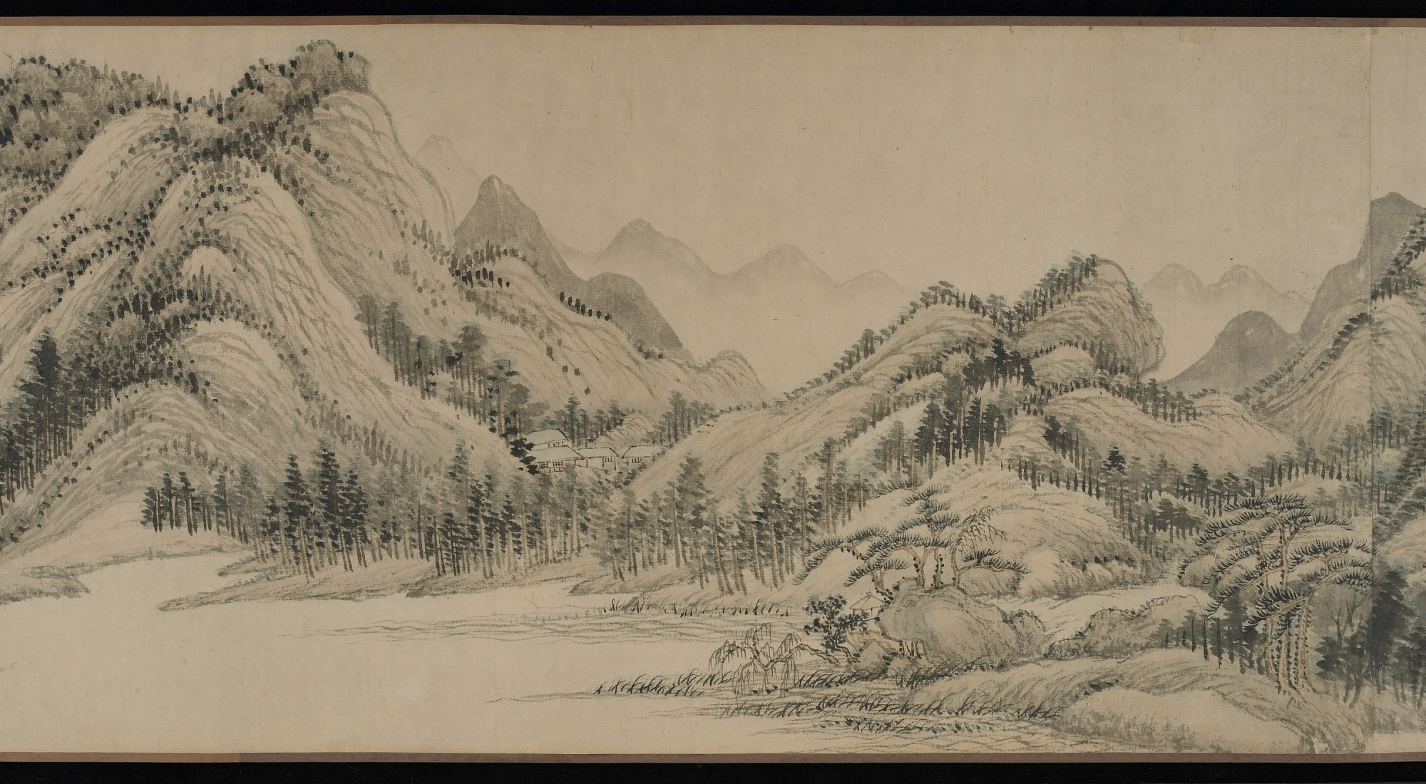 section 6: Dwelling in the Fuchun Mountains after Huang Gongwang