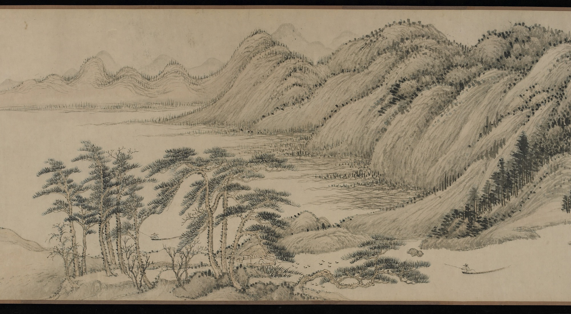 section 7: Dwelling in the Fuchun Mountains after Huang Gongwang