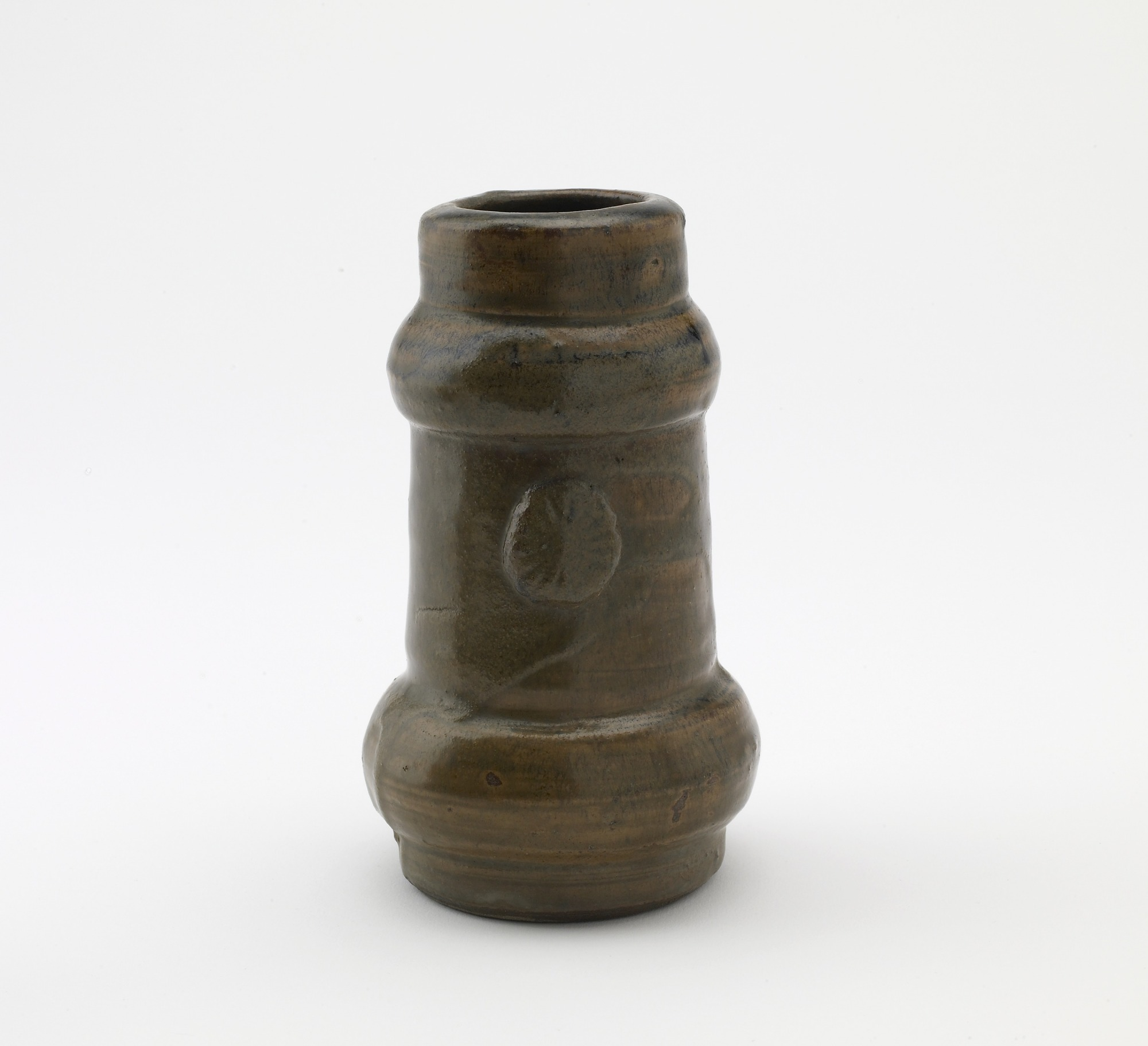Tanoue ware vase for Buddhist altar or grave