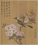 Birds on a blossoming branch