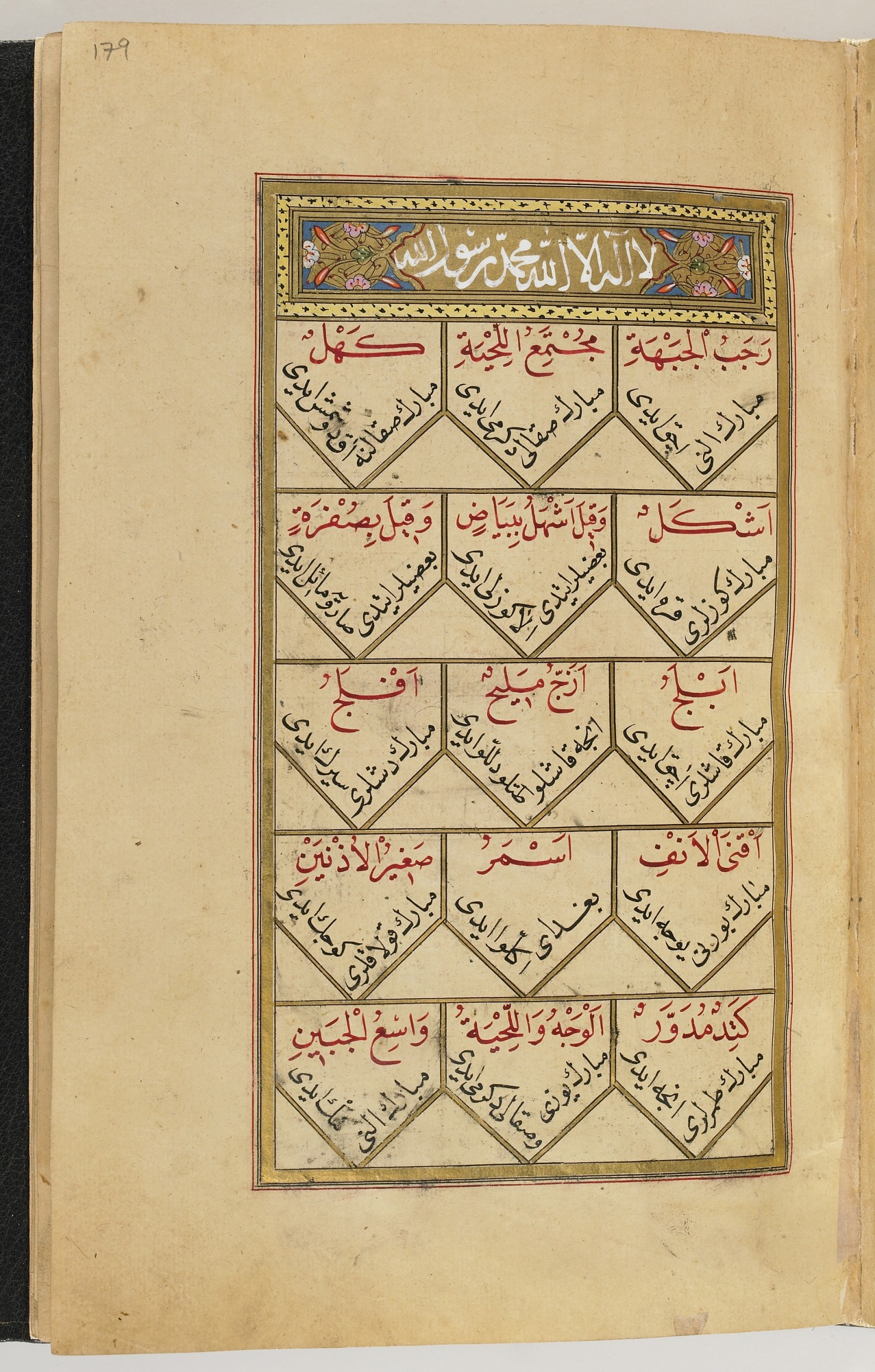 folio 179 recto: Book of prayers