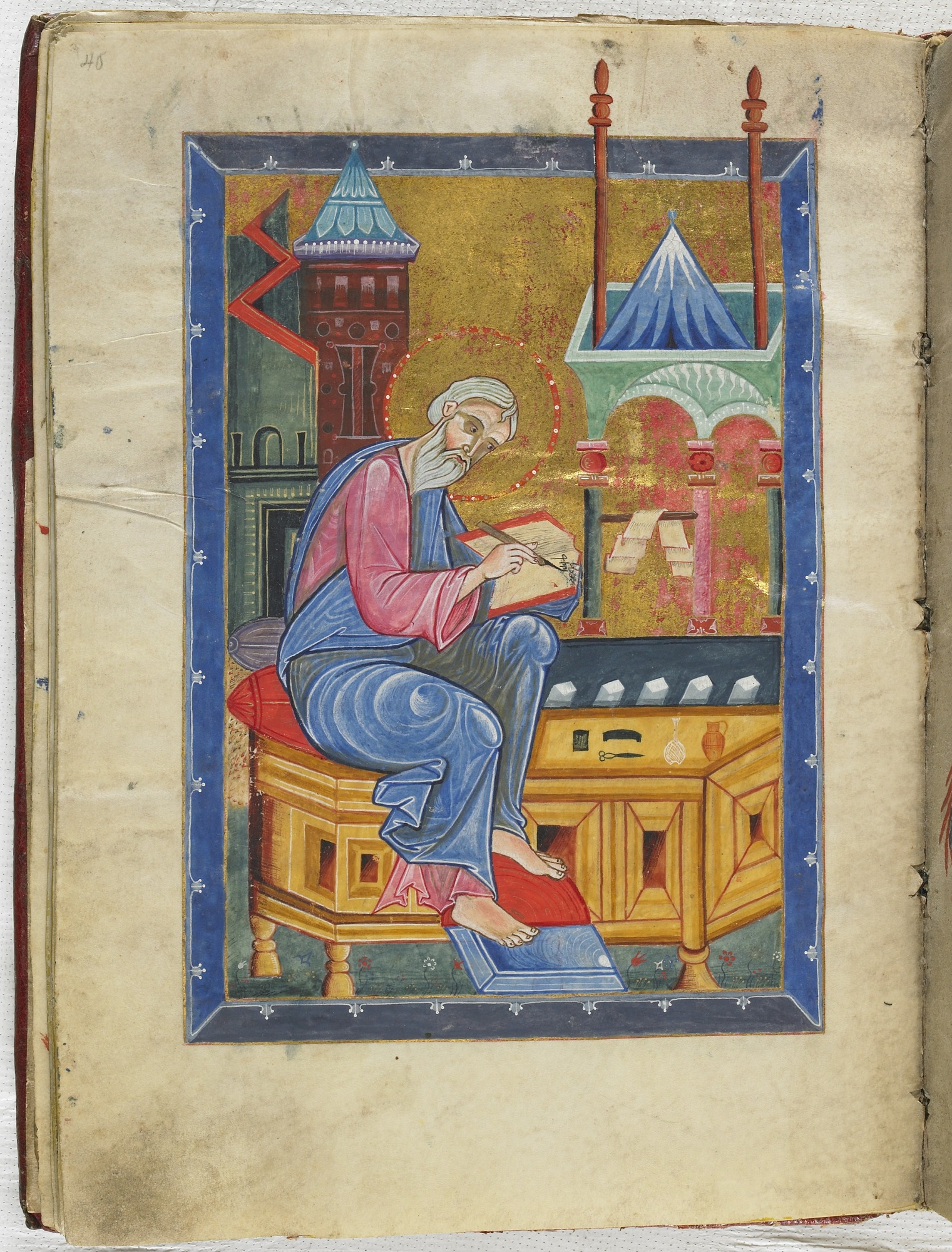 folio 40: The Gospel according to the Four Evangelists