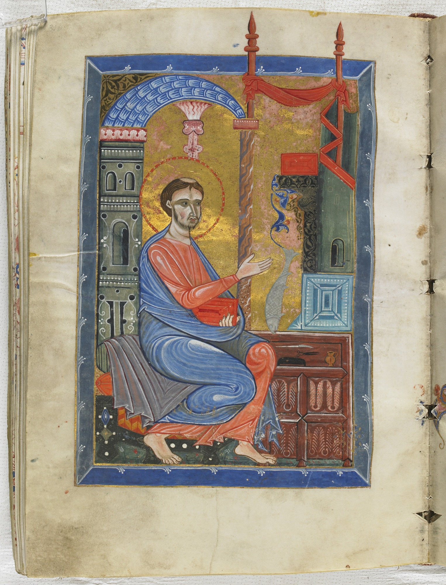 folio 310: The Gospel according to the Four Evangelists