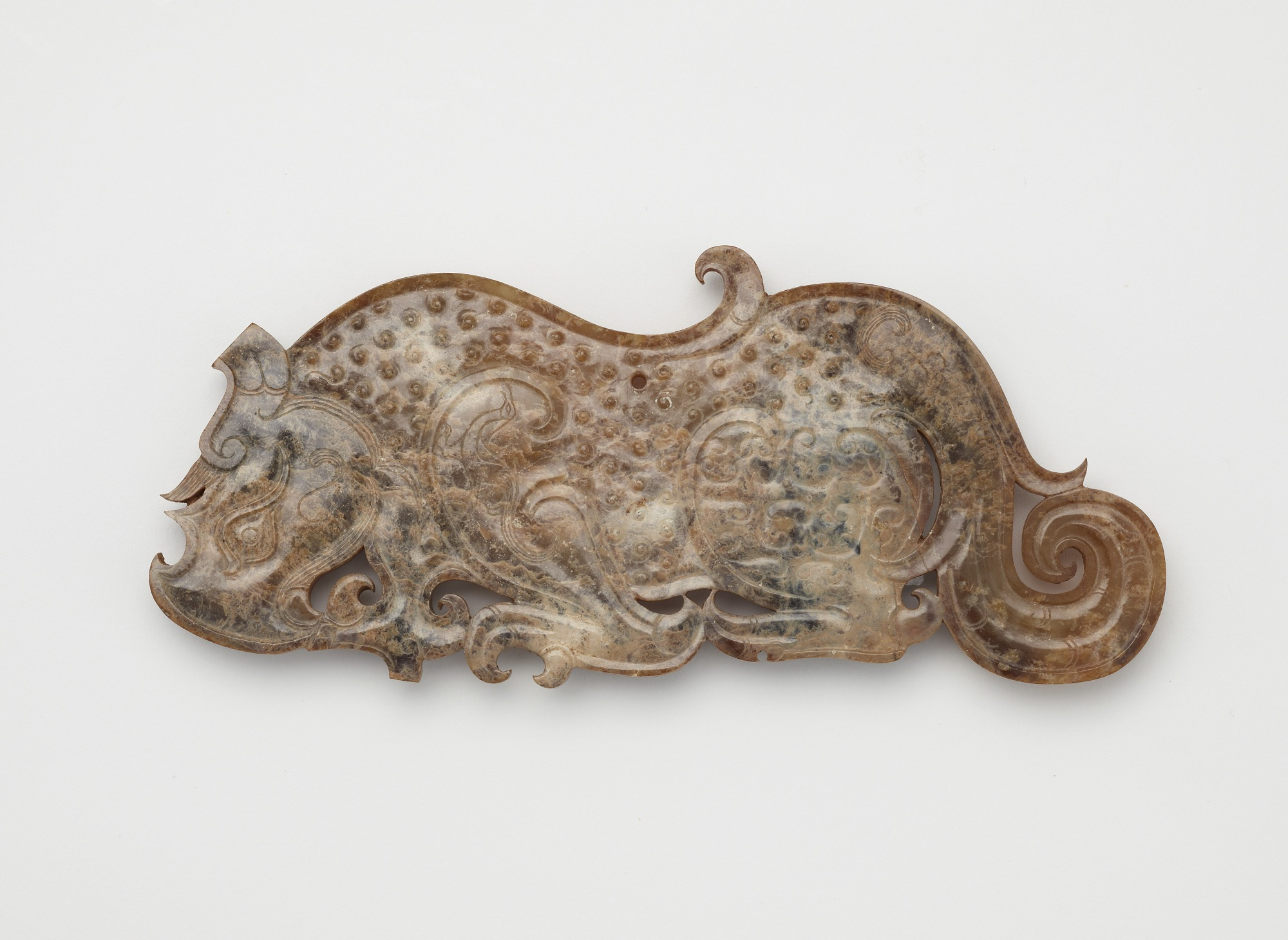 Pendant in the form of a crouching tiger