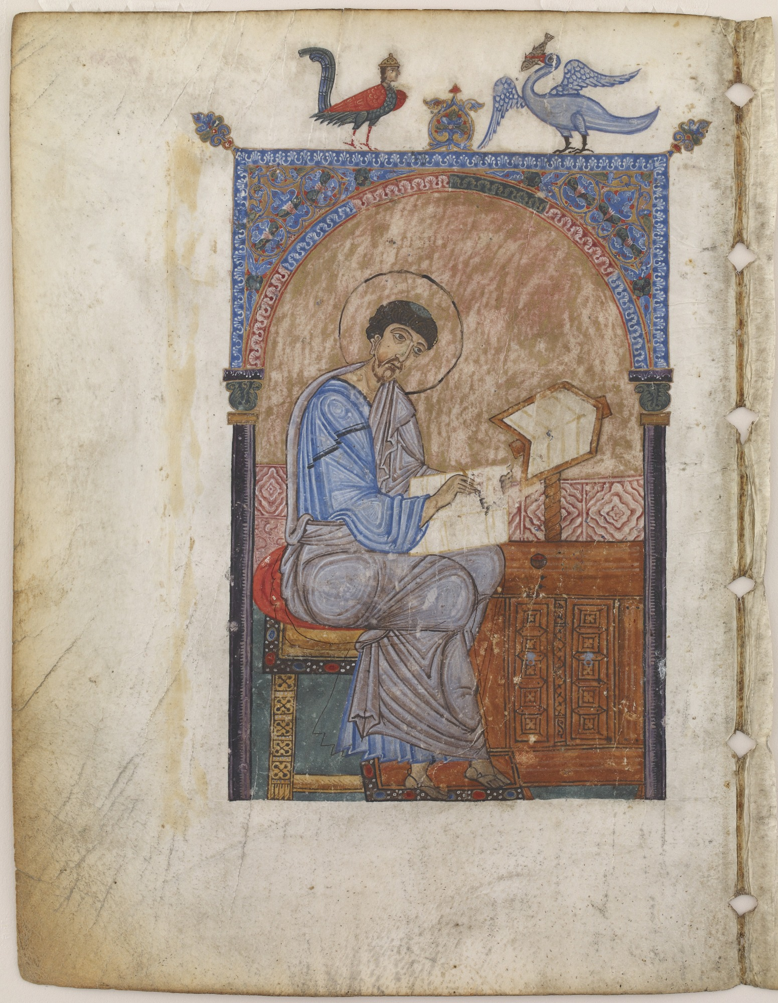 folio 129: Copy of The Gospel according to the four Evangelists