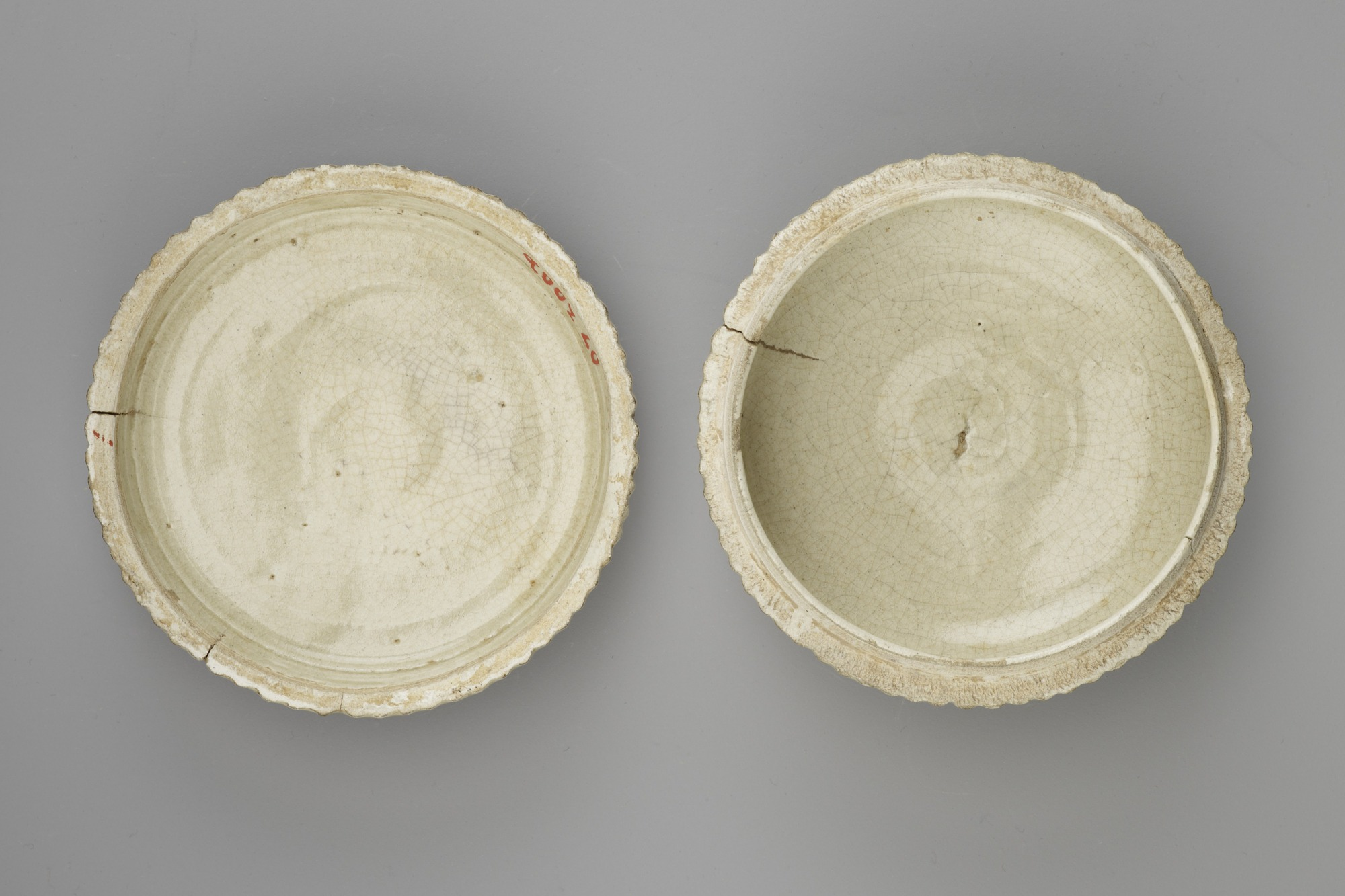 interior and lid