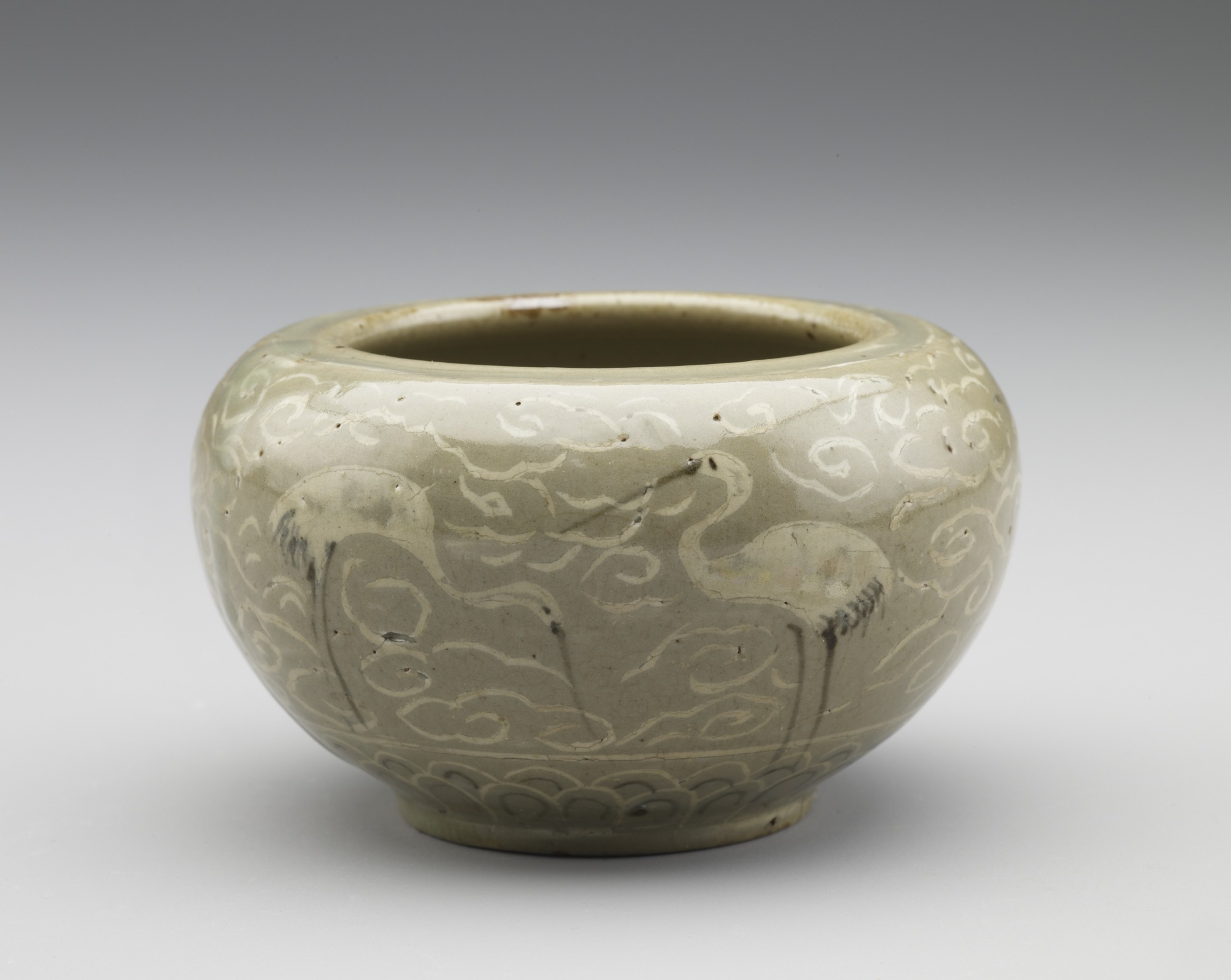 Jar in style of Goryeo celadon