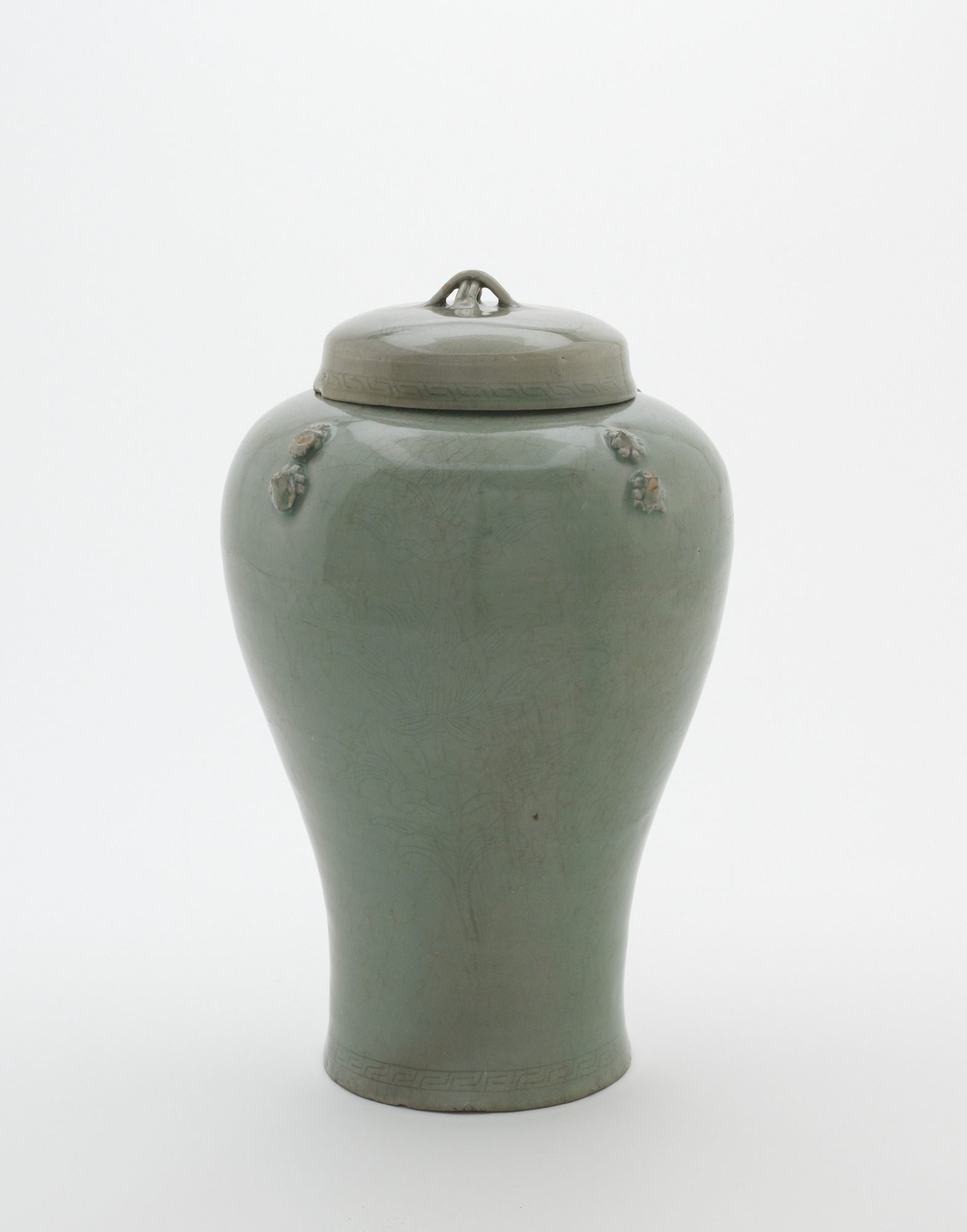 Jar with lid, profile with lid