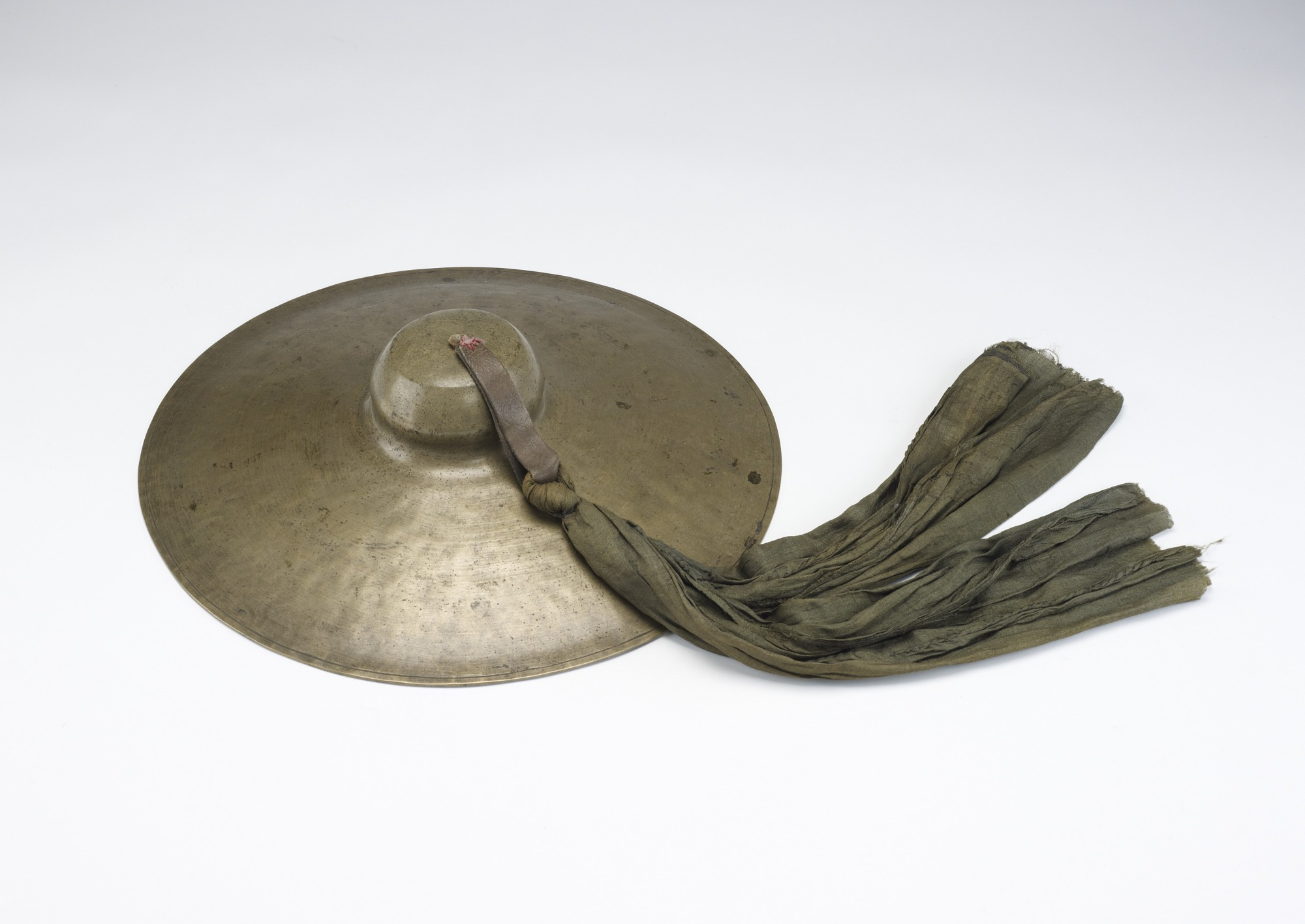 Pair of Large Cymbals with Carrying Case