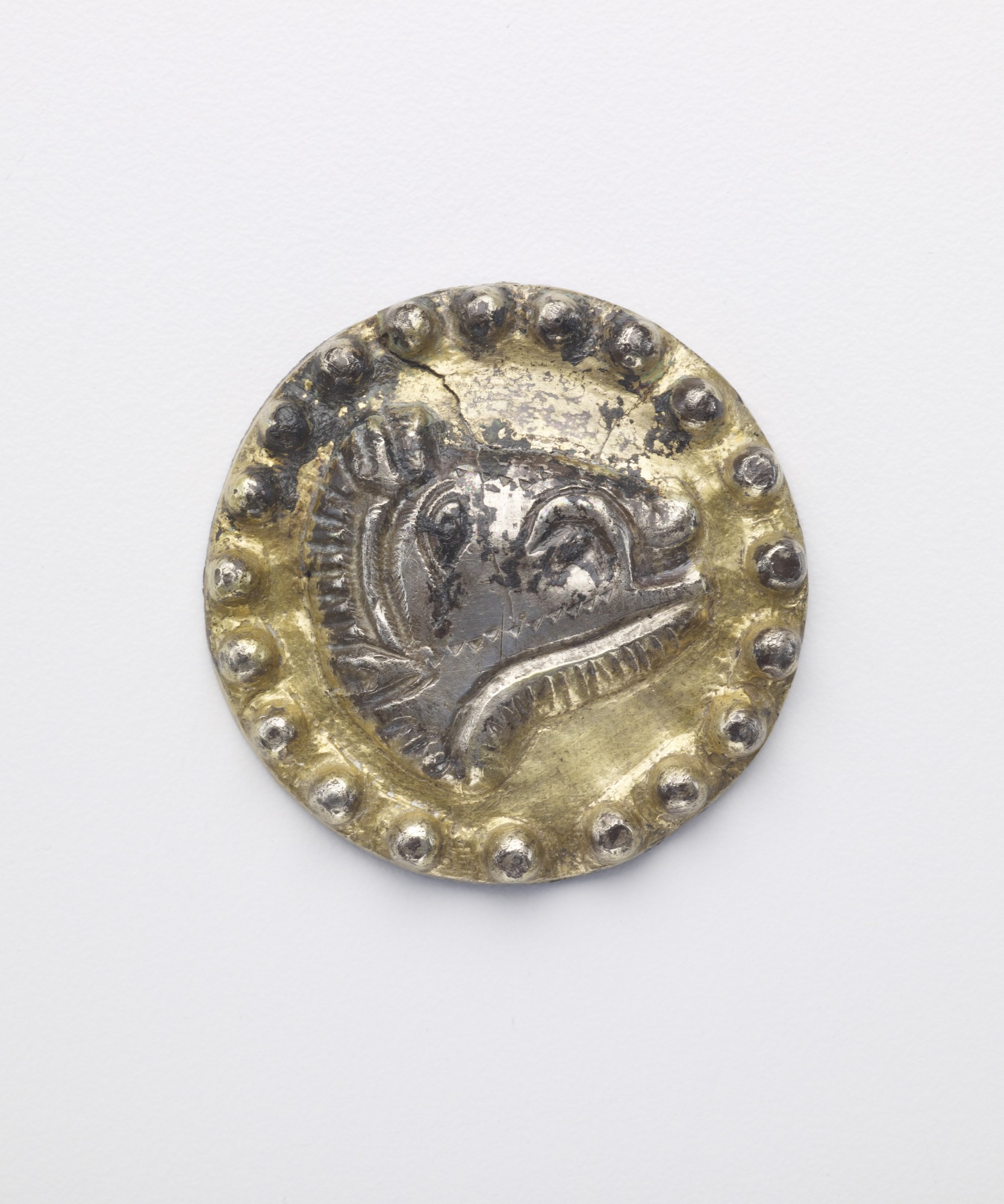 0.1: Six boar-head roundels (formerly applied to S1987.133.1)