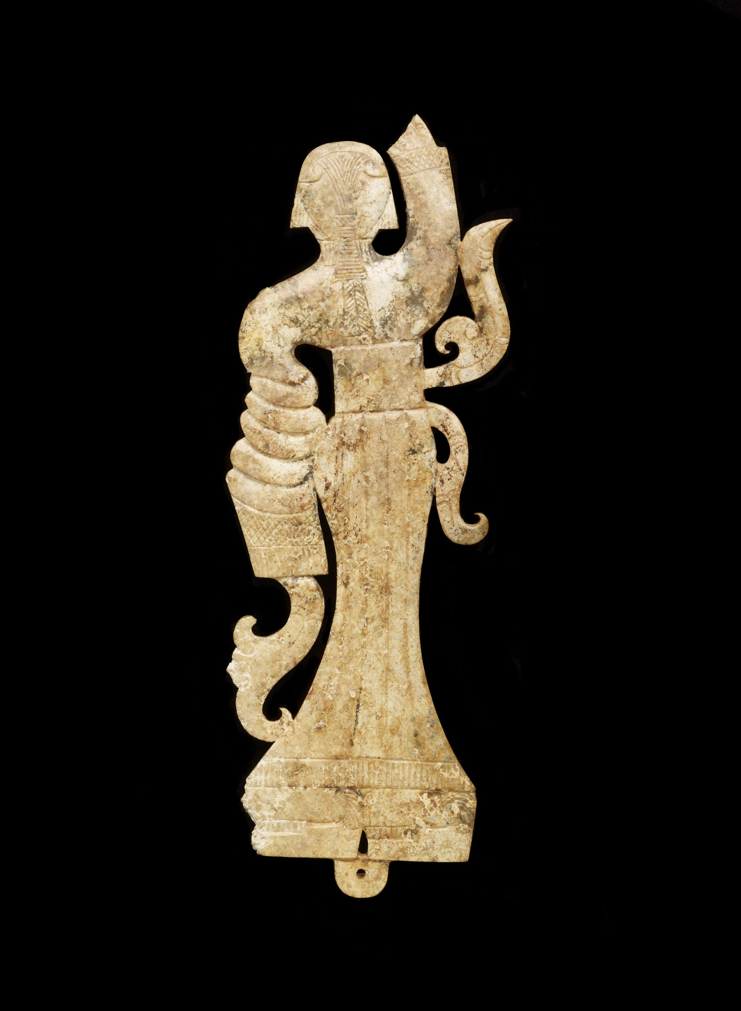 Pendant in the form of a female dancer