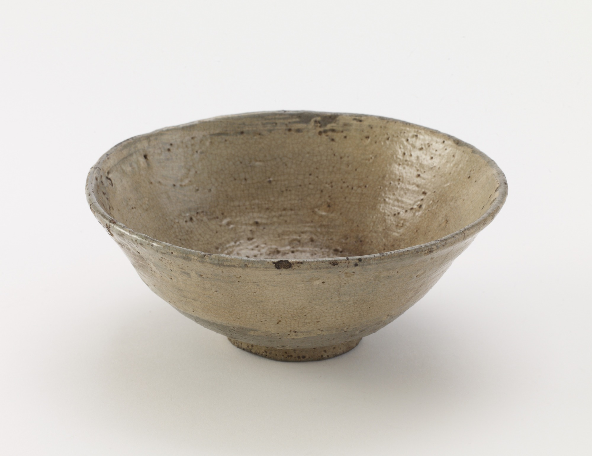 Tea bowl, hakeme type