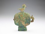 Ritual vessel (huo) with bird stopper